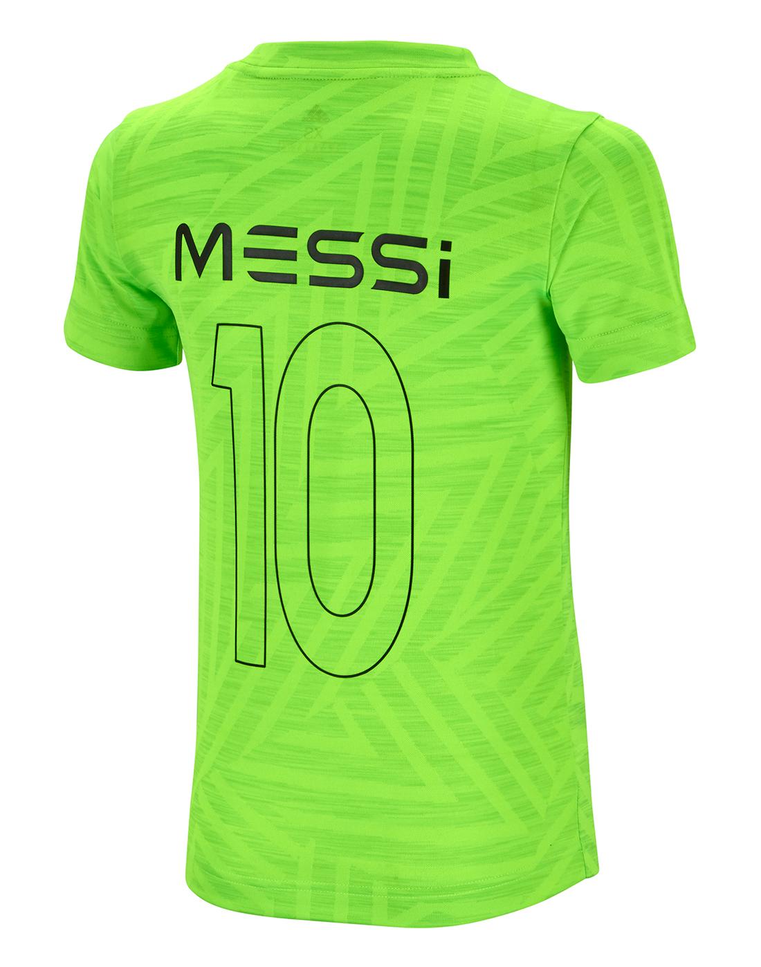 aaa8c9fb9c5 Boy s Green adidas Messi Icon T-Shirt