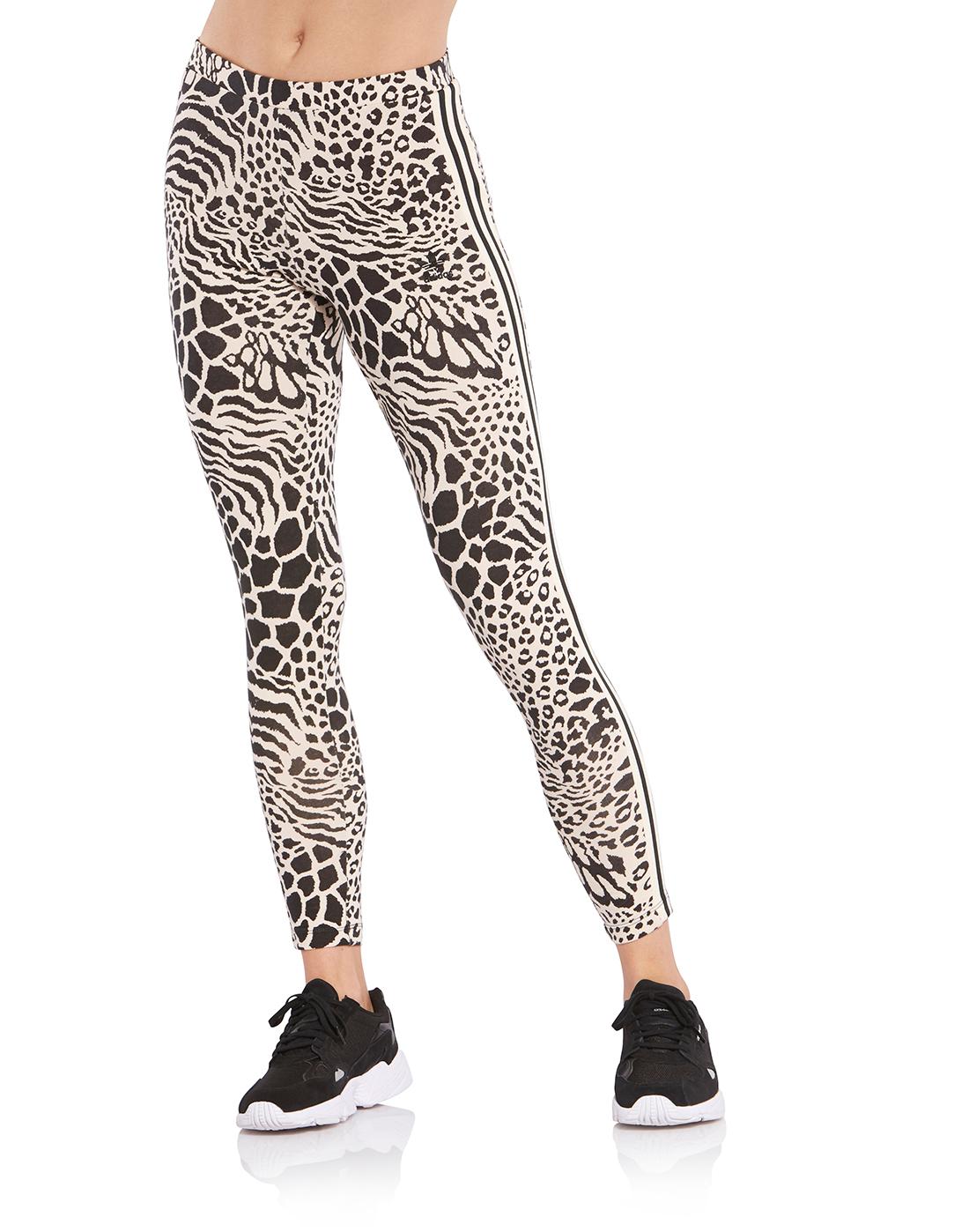 89e39042f91c Women's Leopard Print adidas Originals Leggings | Life Style Sports