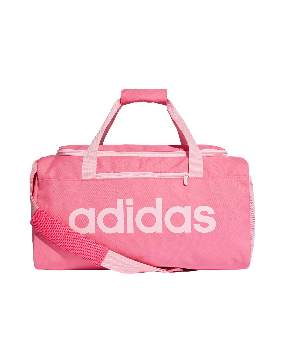 38d56dd843c Small Pink adidas Duffel Bag   Life Style Sports