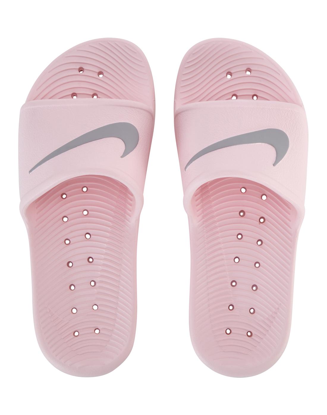 check out d3d42 5e538 Nike Womens Kawa Shower Slides   Life Style Sports nike kawa slide women s  pink