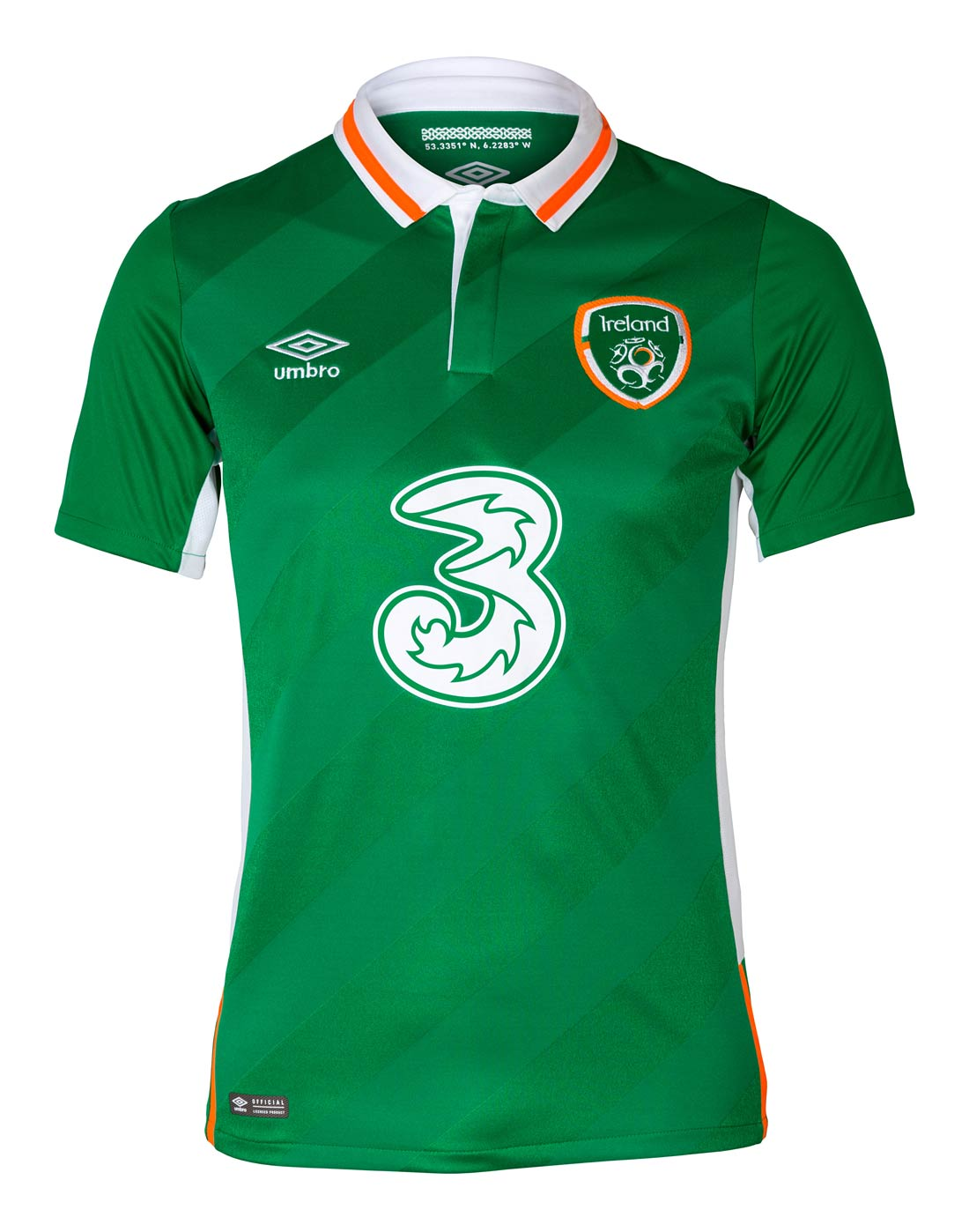 848ee12f5e Umbro Adult Ireland Home Jersey   Life Style Sports