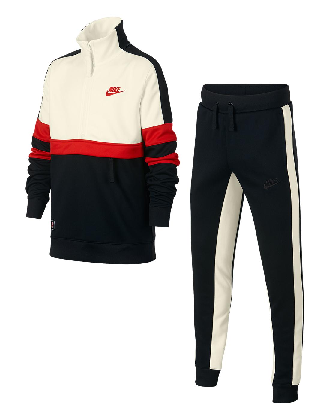 80d425684 Boy's Black & Cream Nike Air Tracksuit   Life Style Sports