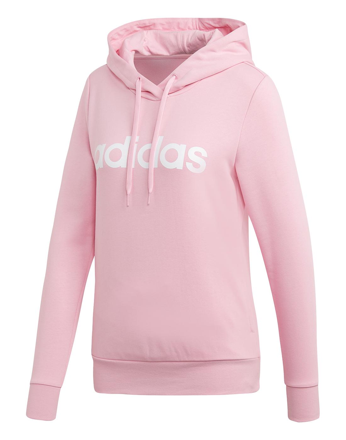 1d7172bdf472 Women s Pink adidas Hoodie