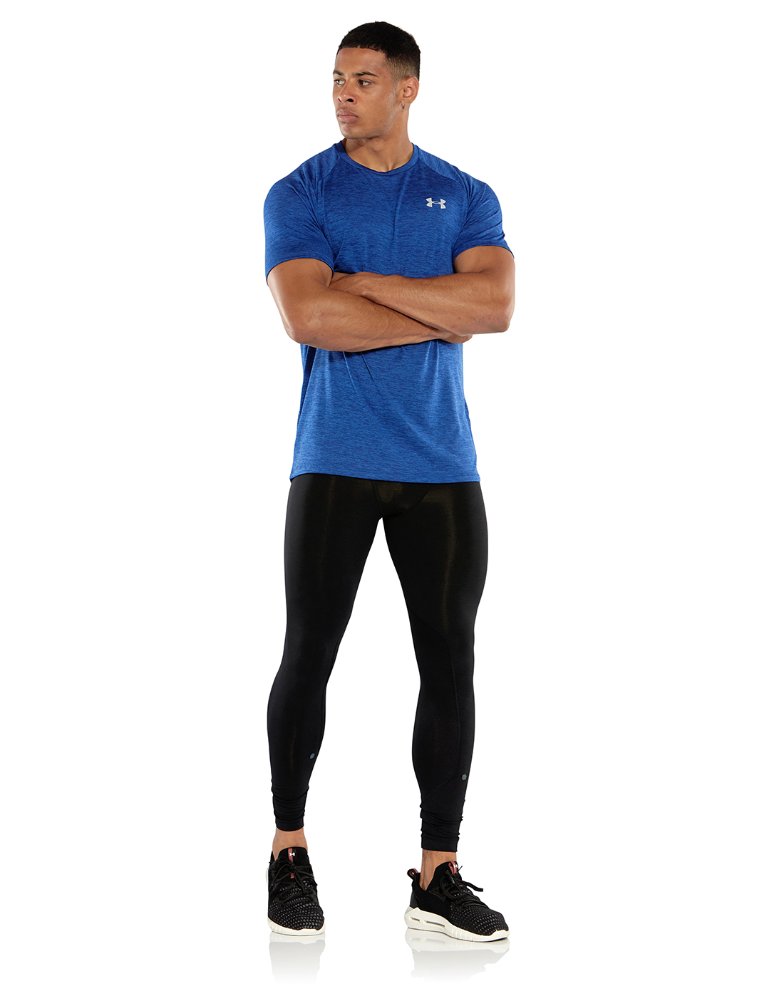 54b53299c5d1f0 Men's Blue Under Armour 2.0 Gym T-Shirt | Life Style Sports