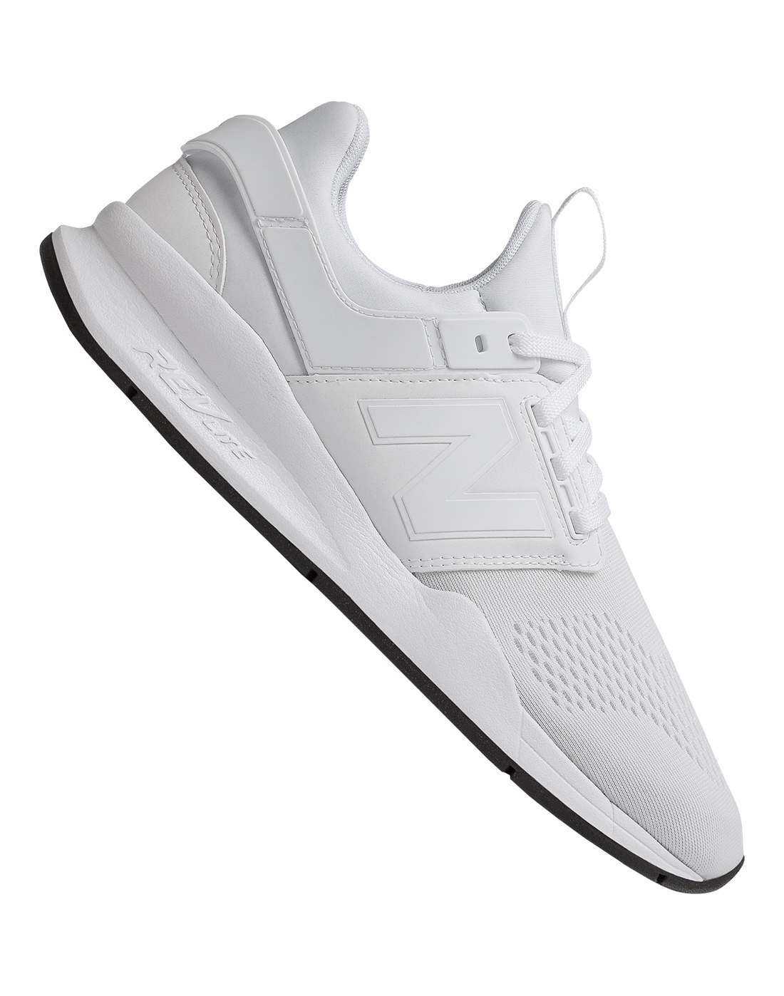 dd382656dd2518 Women's White New Balance 247 Trainers | Life Style Sports
