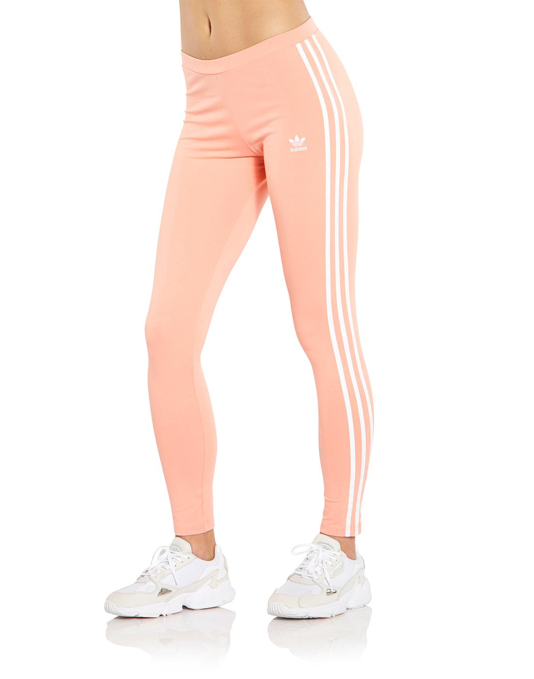 4a3eafc9bea87 Women's Pink adidas Originals Leggings | Life Style Sports