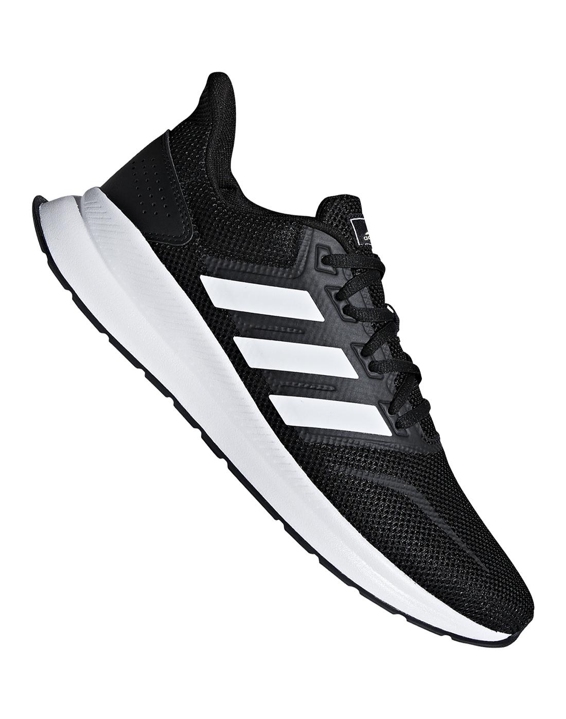 cerebro Tengo una clase de ingles Escultura  adidas Mens Run Falcon - Black | Life Style Sports IE