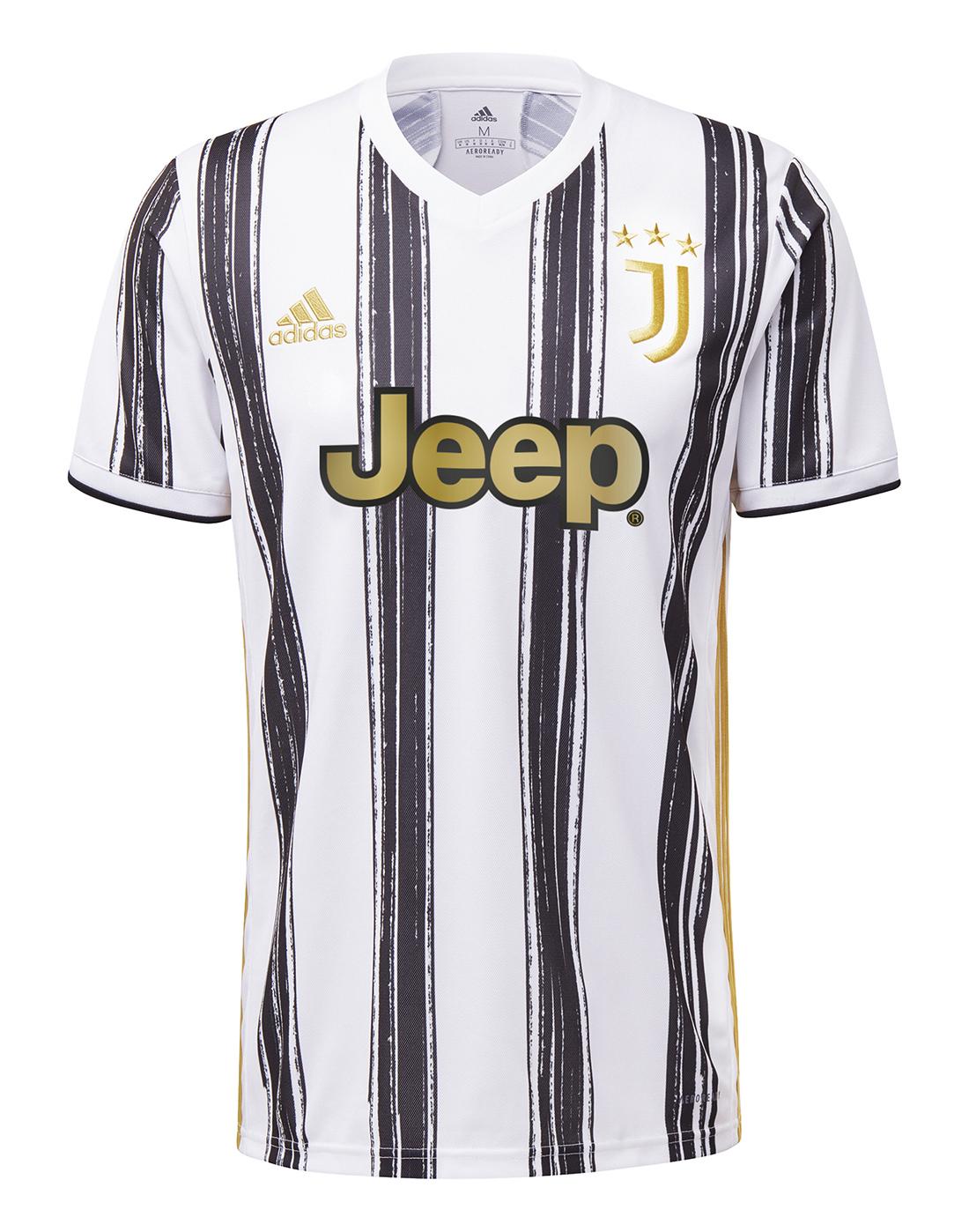 adidas Adult Juventus 20/21 Home Jersey - White   Life ...