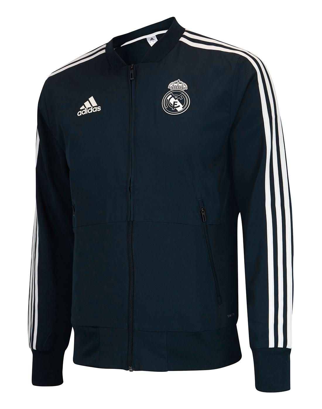 5a5b442e65d2 Adult Real Madrid Presentation Jacket · Adult Real Madrid Presentation  Jacket ...