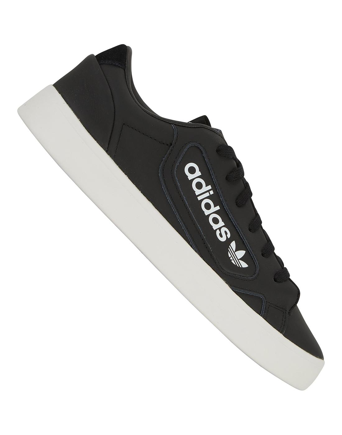 adidas Originals Womens Sleek - Black