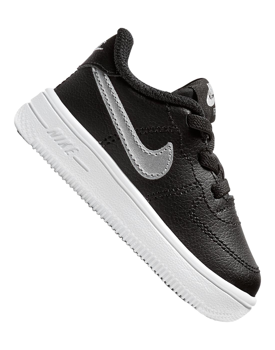 48e88d833bcde Infant Boys Black Nike Air Force 1