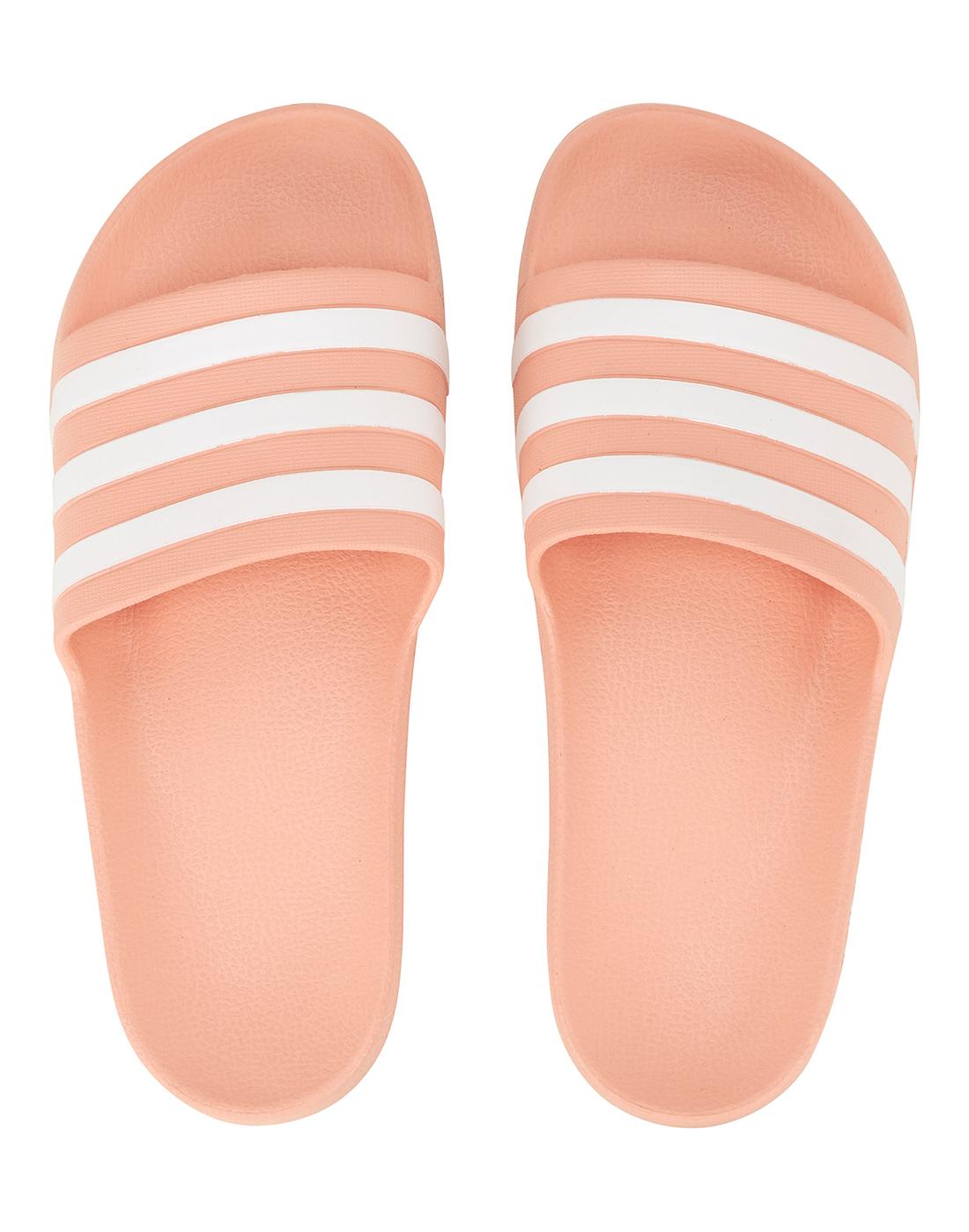 b2896b33a0bd1 Women s Orange adidas Originals Aqua Slides