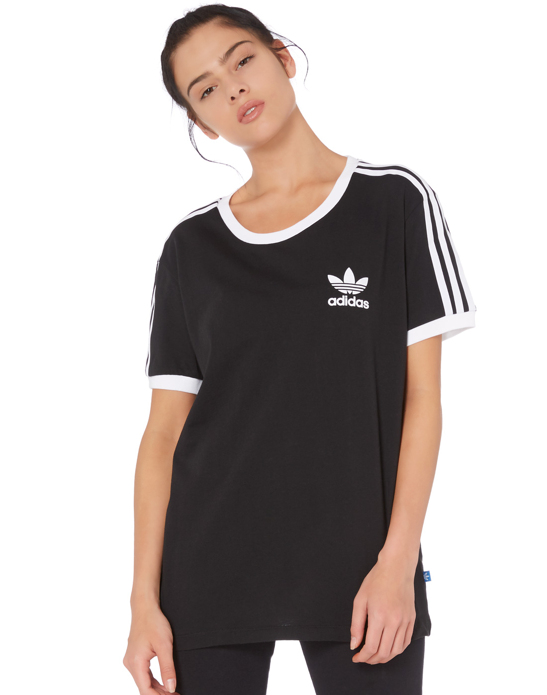 ff14903d adidas Originals Womens 3 Stripe T-Shirt | Life Style Sports
