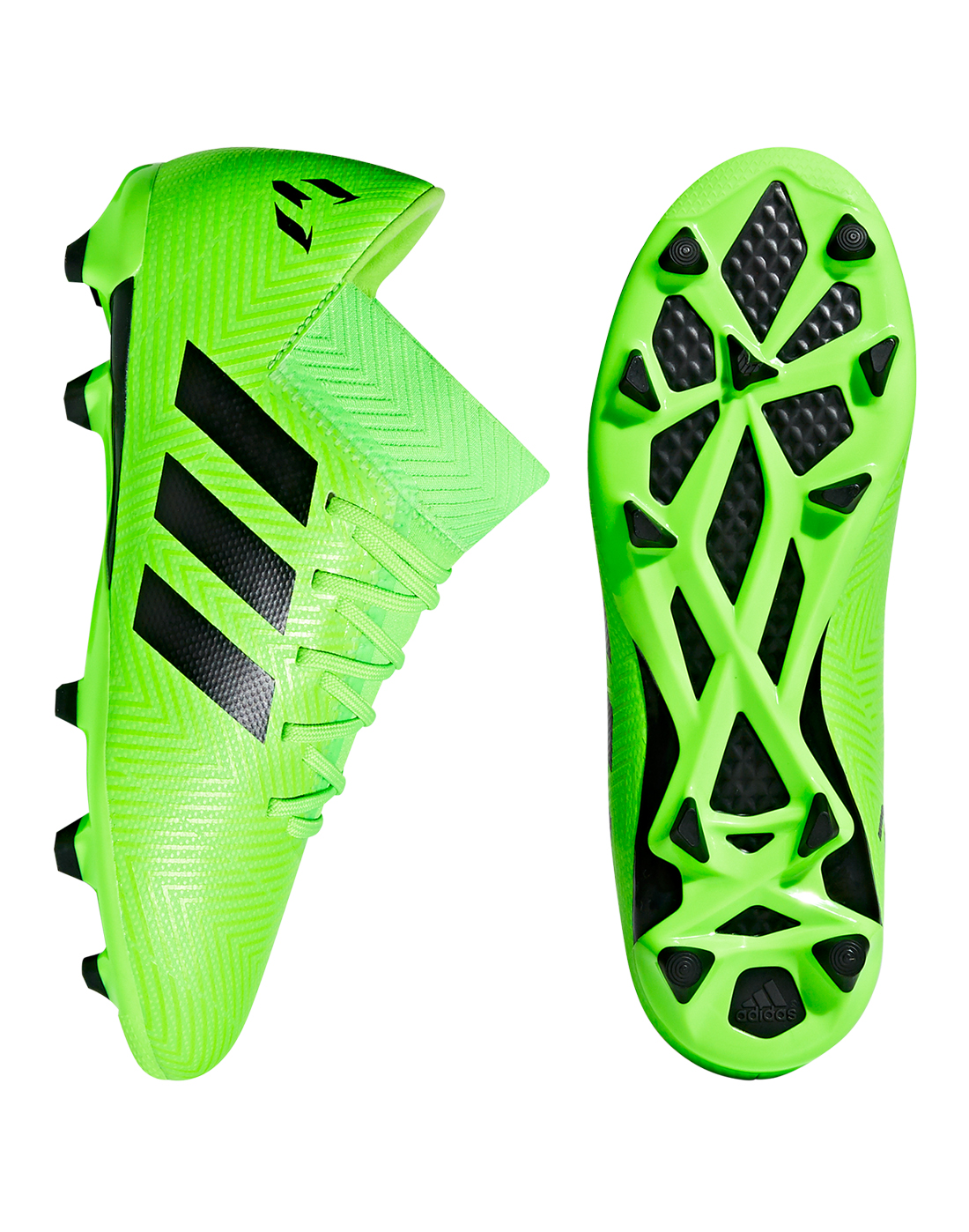 d4d25d7ba879 Kids Green adidas Nemeziz 18.3 | Energy Mode Pack | Life Style Sports