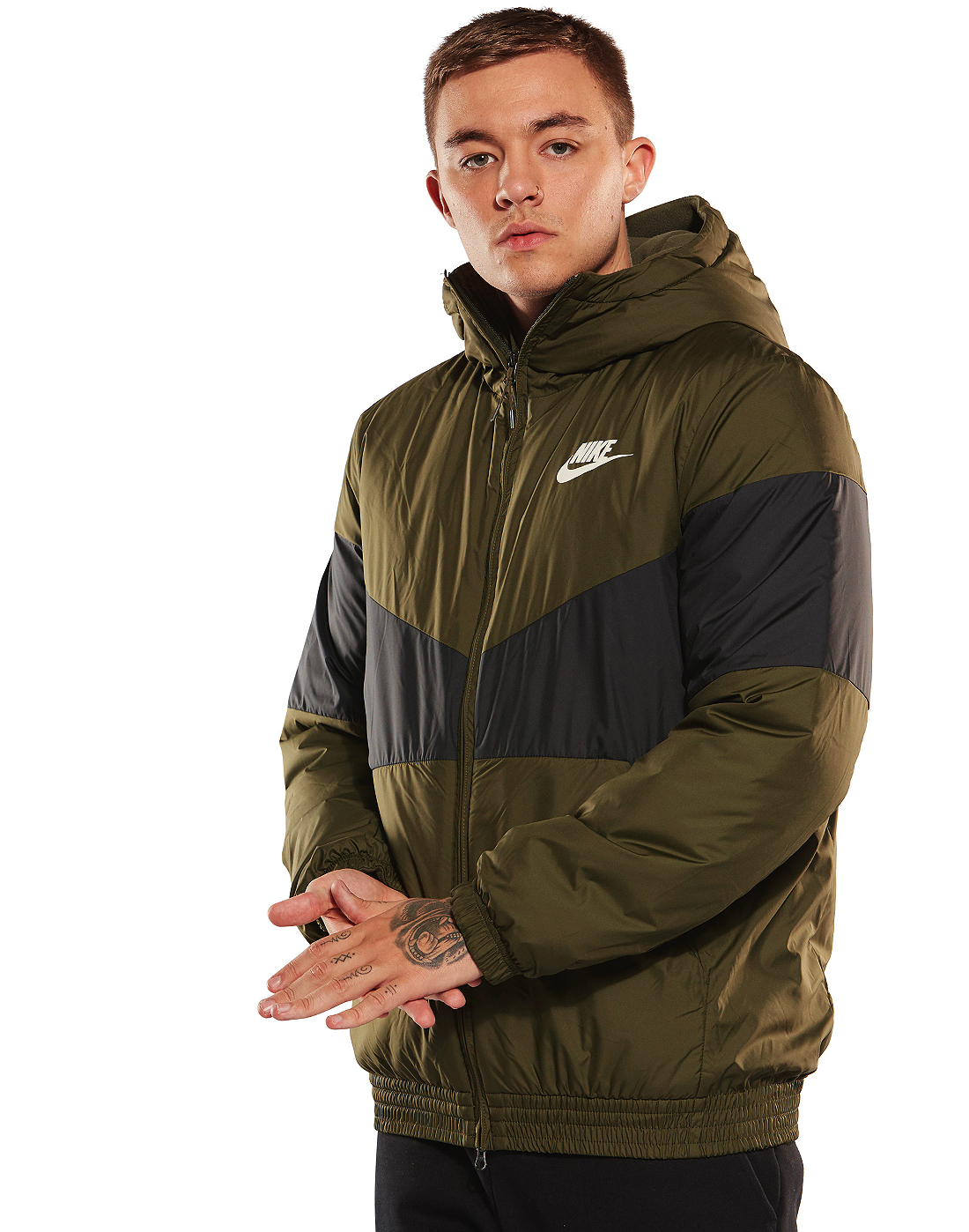 5017f402e Men's Green Nike Insulated Jacket | Life Style Sports