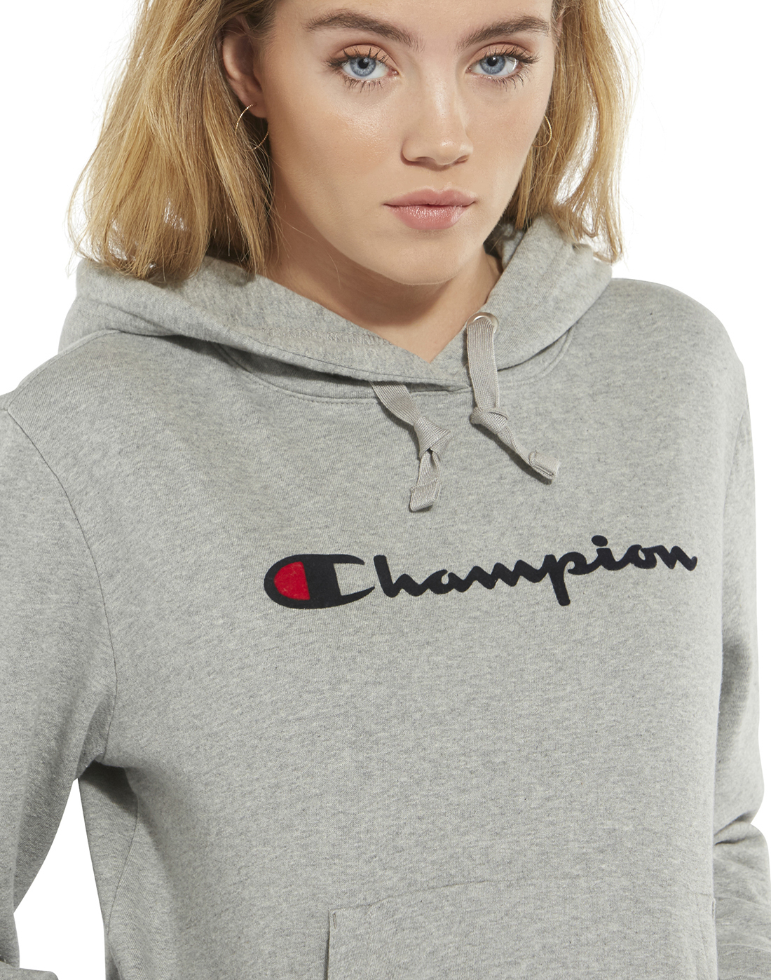 Women s Grey Champion Hoodie  6e0c050de