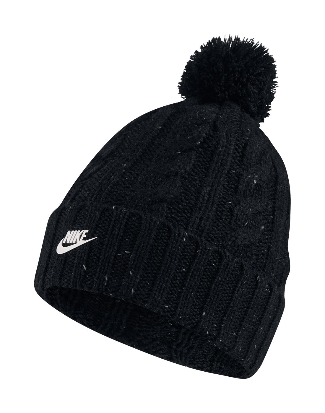 Nike Cable Knit Bobble Beanie  26234da43ea