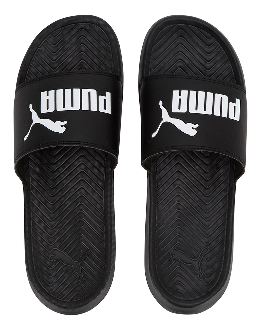 9296c8f38a4c5 Puma Mens Puma Pop Cat Slides