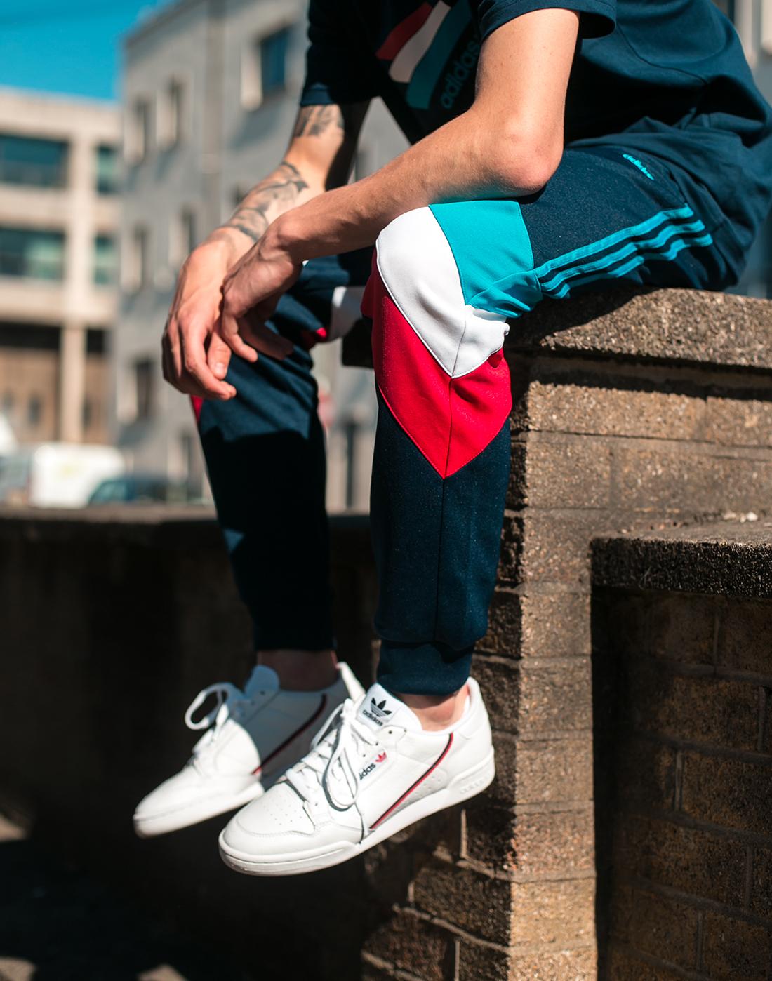 21ee0b138a8 Men s White adidas Originals Continental 80