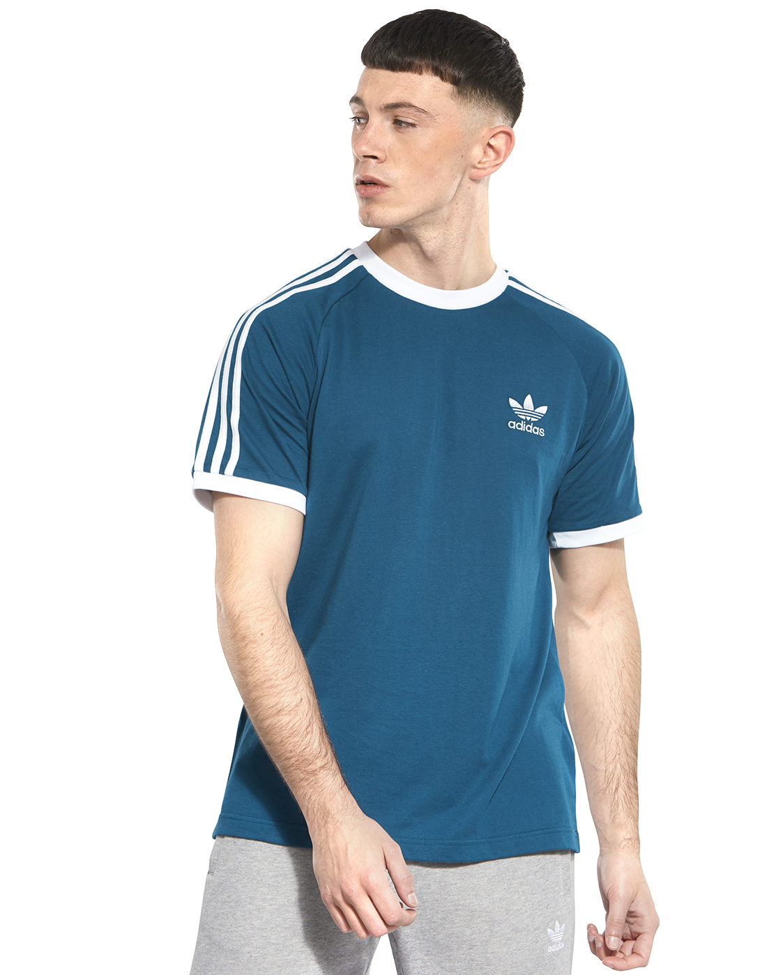 f3e47f5e202 Men's Blue adidas Originals T-Shirt | Life Style Sports
