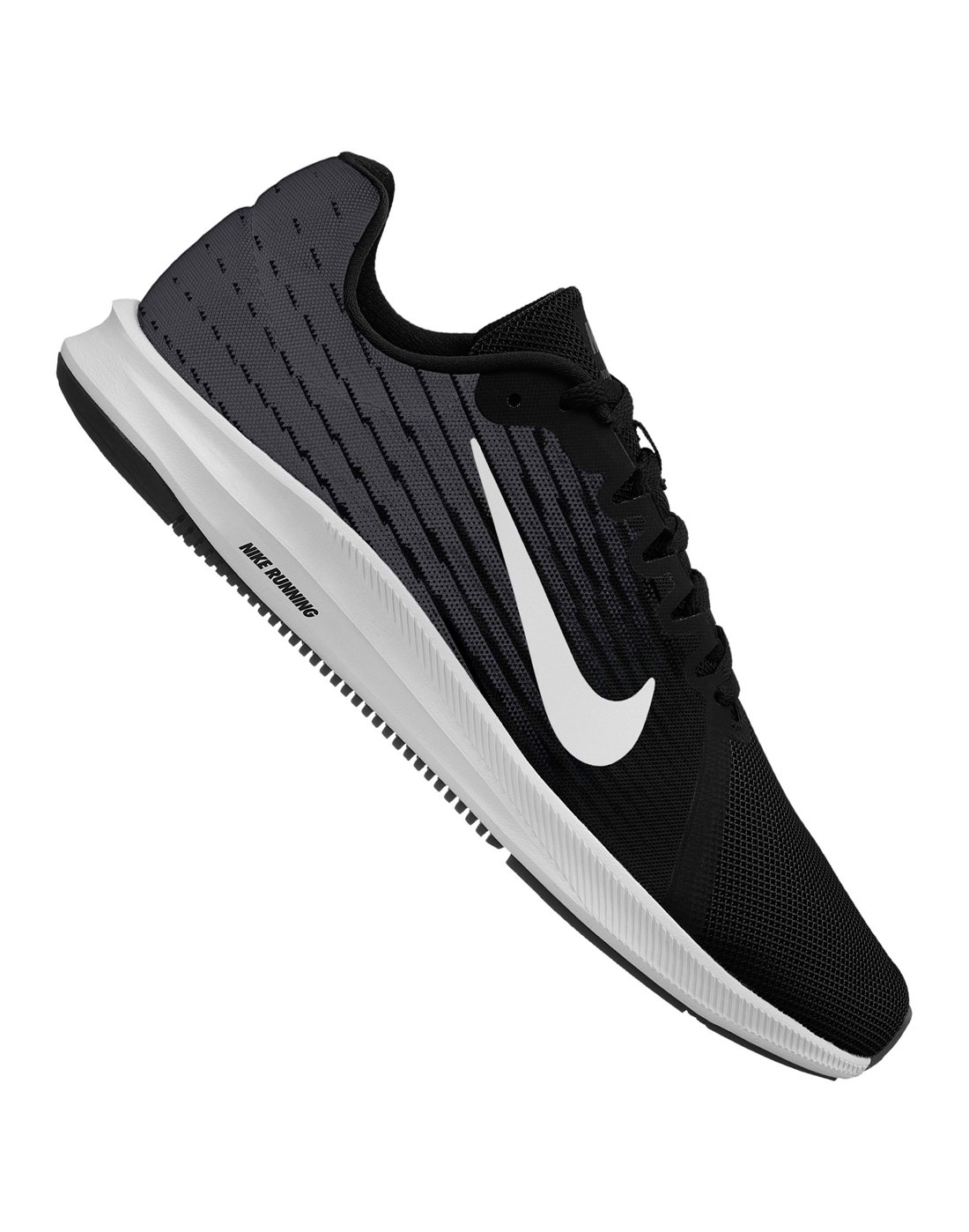 Nike Mens Downshifter 8 | Black | Life