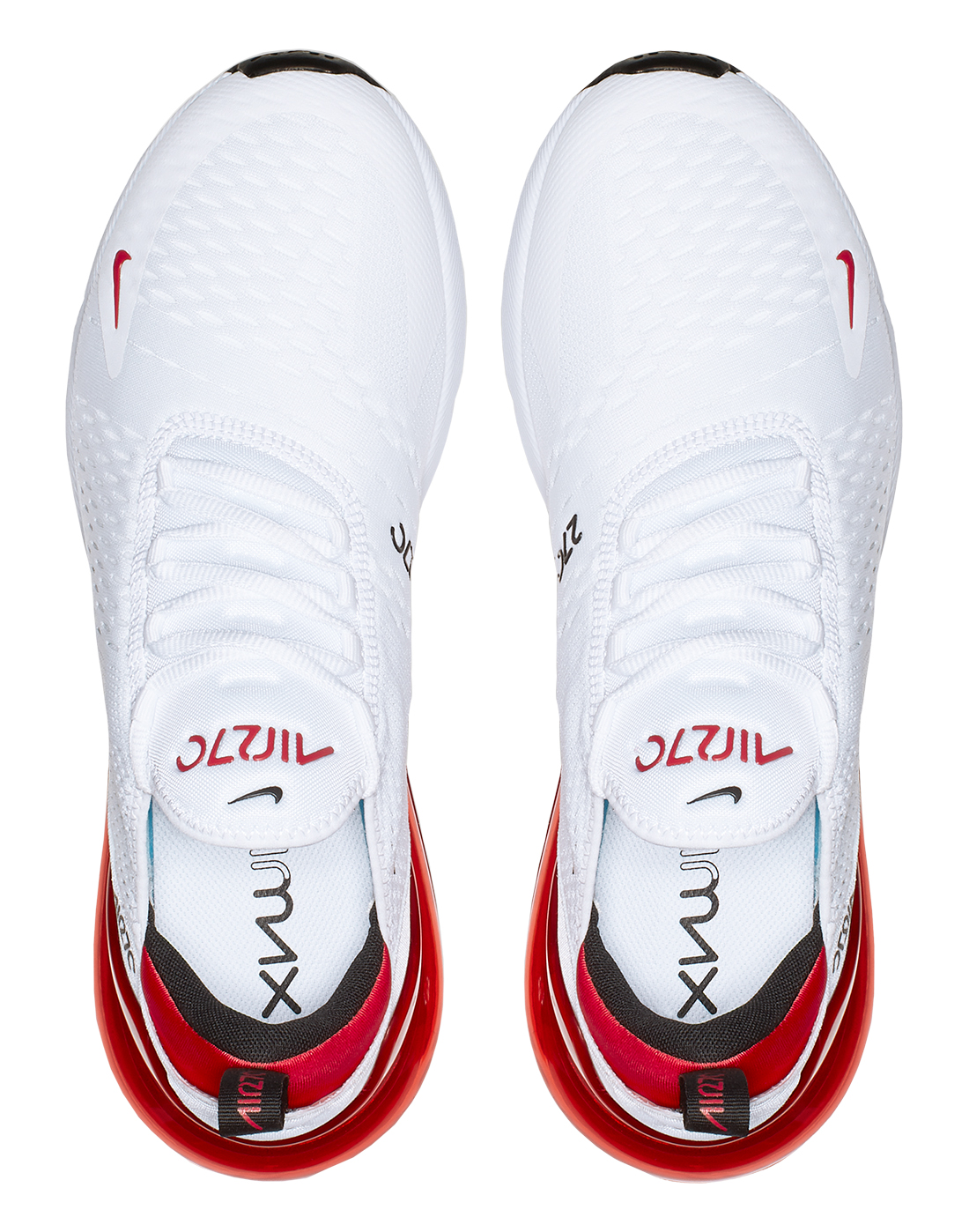 buy popular 2b4c0 7052c Men's White & Red Nike Air Max 270 | Life Style Sports