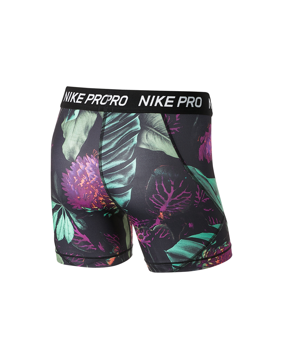 22bbd256f3d7 Girl's Nike Pro Floral Print Shorts | Life Style Sports