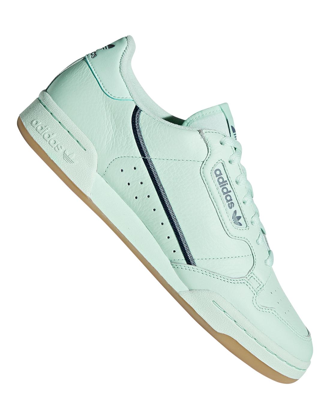 Green adidas Originals Continental 80