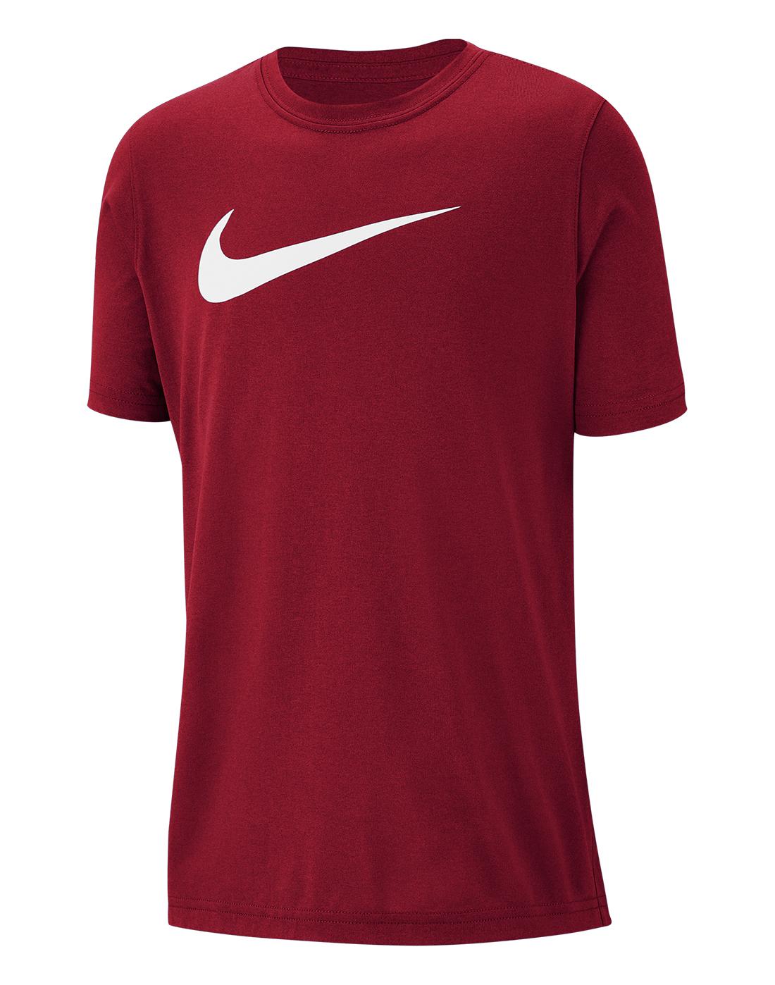 01b748b0cf6 Nike Older Boys Dry Swoosh T-Shirt | Life Style Sports