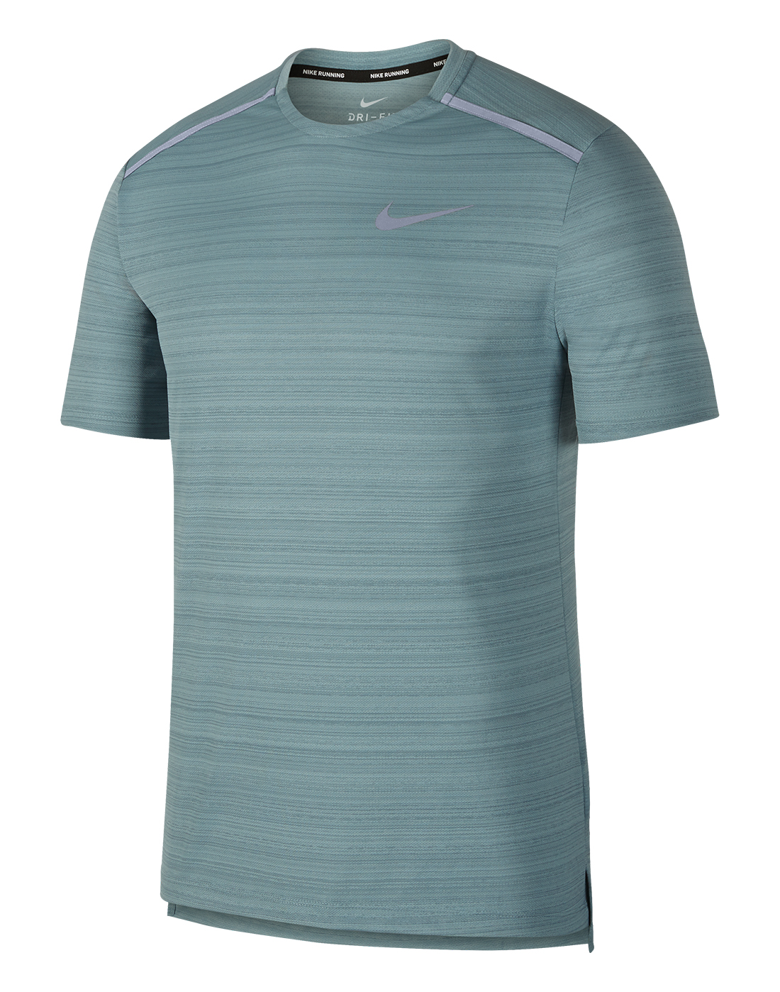 455e9aad Men's Teal Blue Nike Dry Running T-Shirt | Life Style Sports