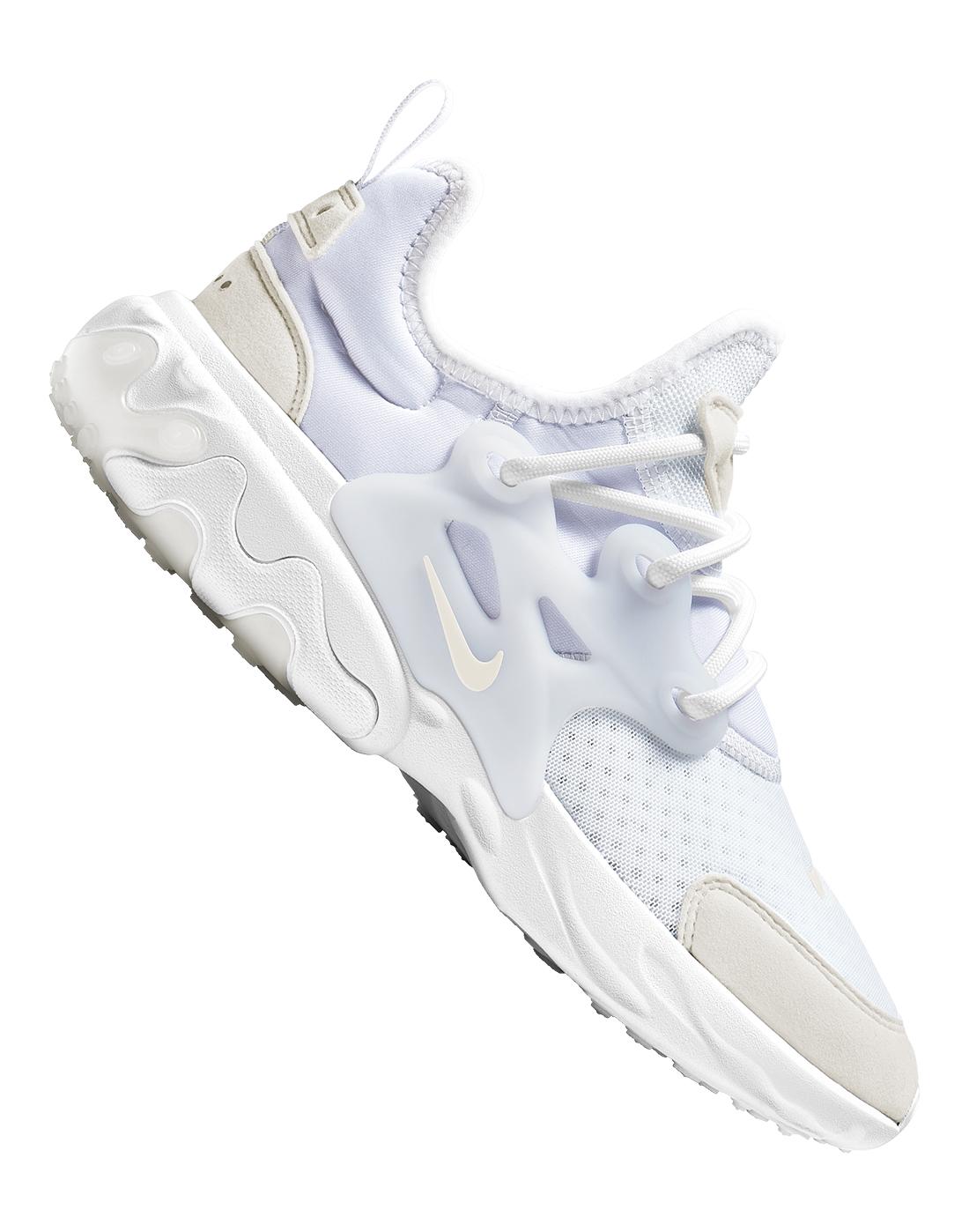 Nike Older Kids React Presto - White