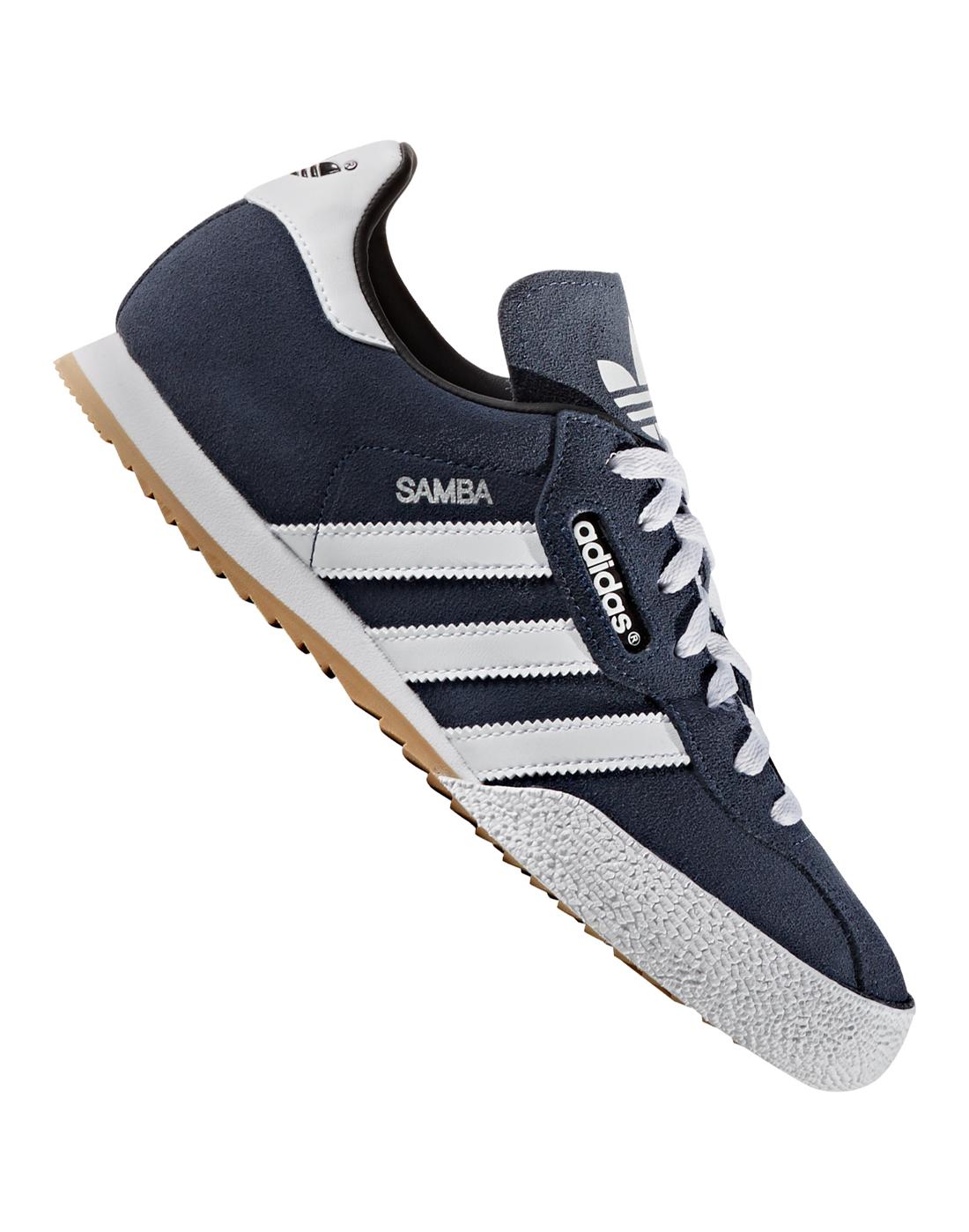 Capitán Brie Numérico tenga en cuenta  adidas Originals Mens Samba Super Suede - Navy   Life Style Sports IE