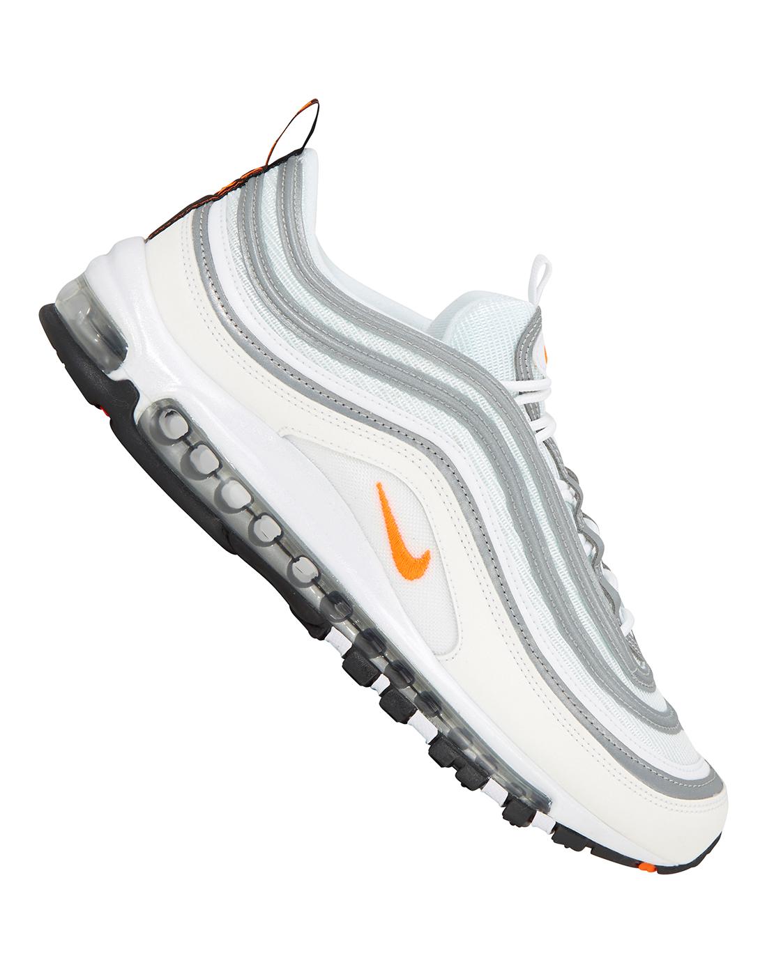 16fdf924dc5b6 Men's White Nike Air Max 97 | Life Style Sports