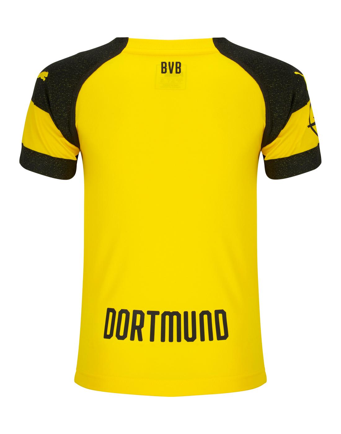 d7f36e9380d Kids Borussia Dortmund 18/19 Home Jersey | Puma | Life Style Sports