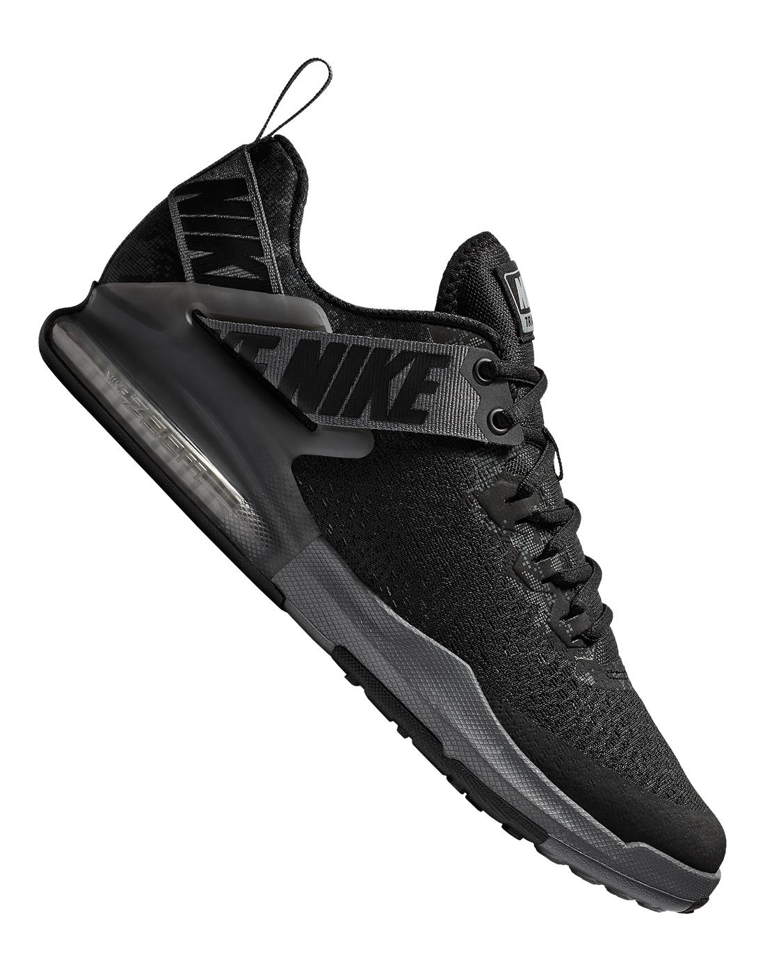 477b2a3df126 Men s Black Nike Zoom Gym Shoes