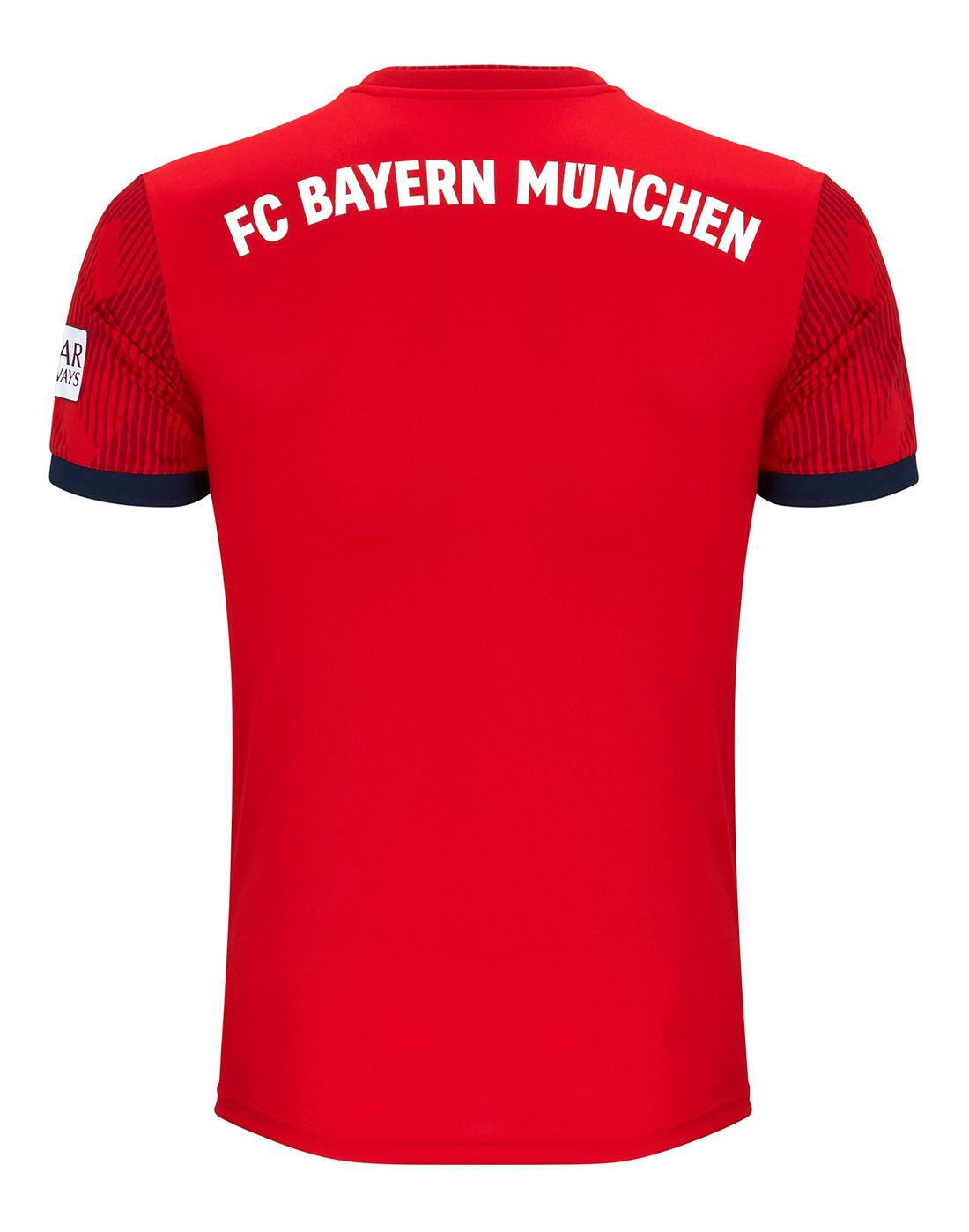 535a87342 ... Adults FC Bayern 18 19 Home Jersey ...
