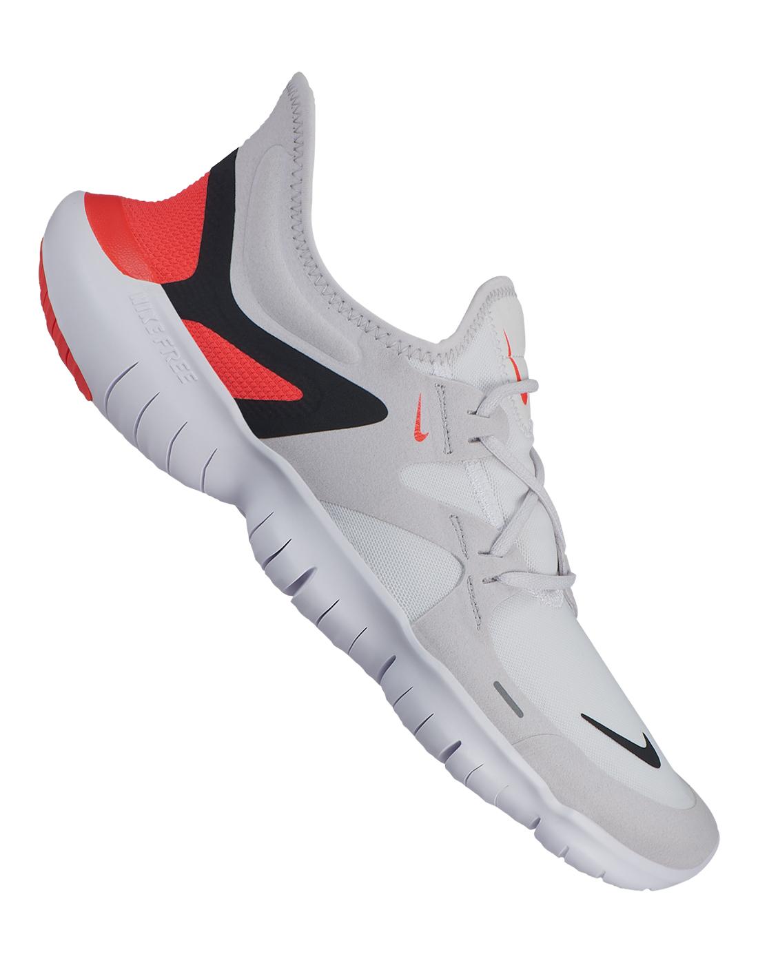 Men's Grey Nike Free Run 5.0   Life