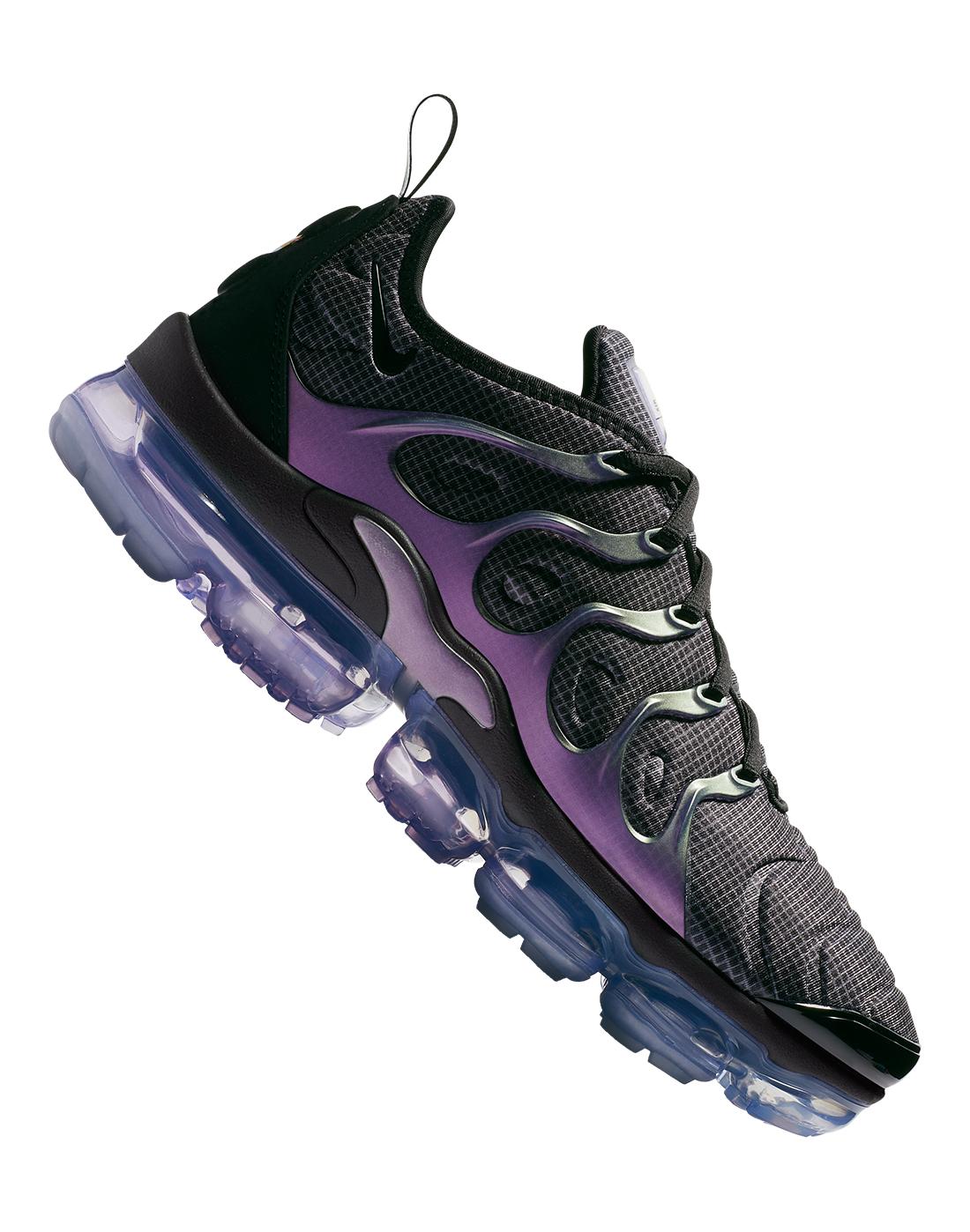 0c375a40b068c Men s Black   Purple Nike Vapormax Plus