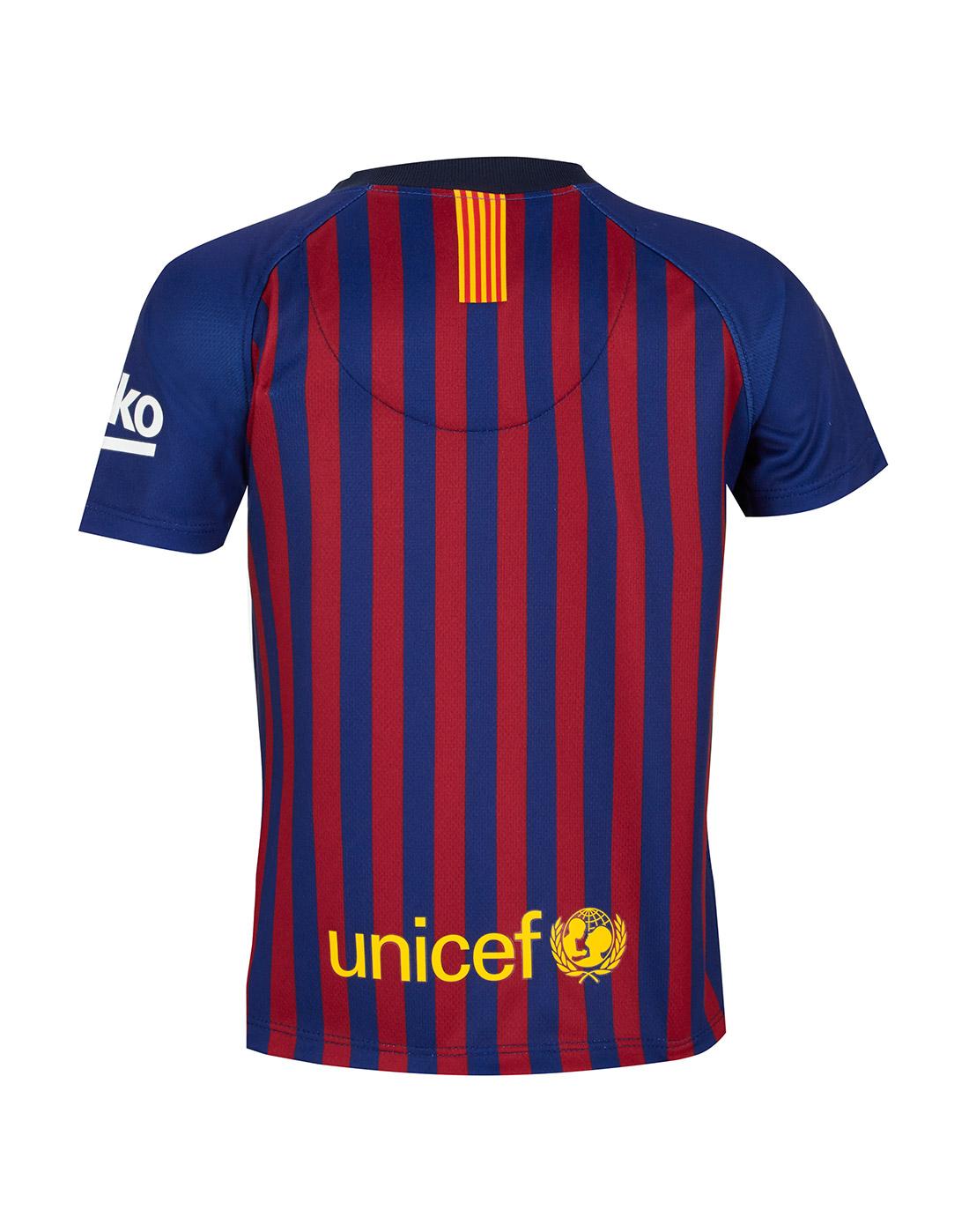 268542bd6 ... Infants Barcelona 18 19 Home Kit ...