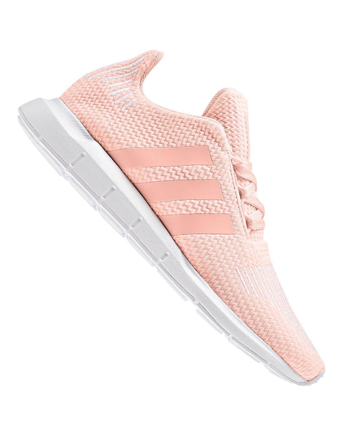2abe8dae4fd Girl s Pink adidas Originals Swift Runs