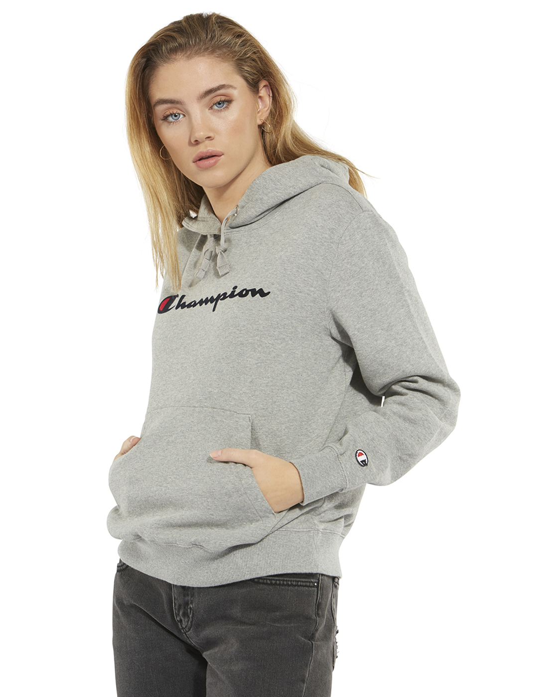 58ae4556 Women's Grey Champion Hoodie | Life Style Sports
