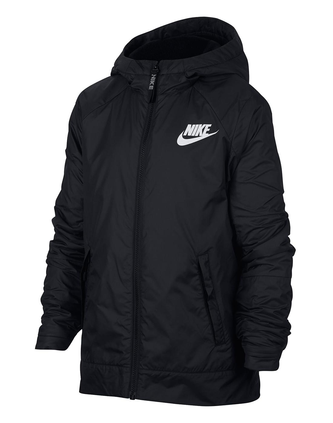 9d17c5dd91 Nike Older Boys Fleece Lined Jacket   Life Style Sports