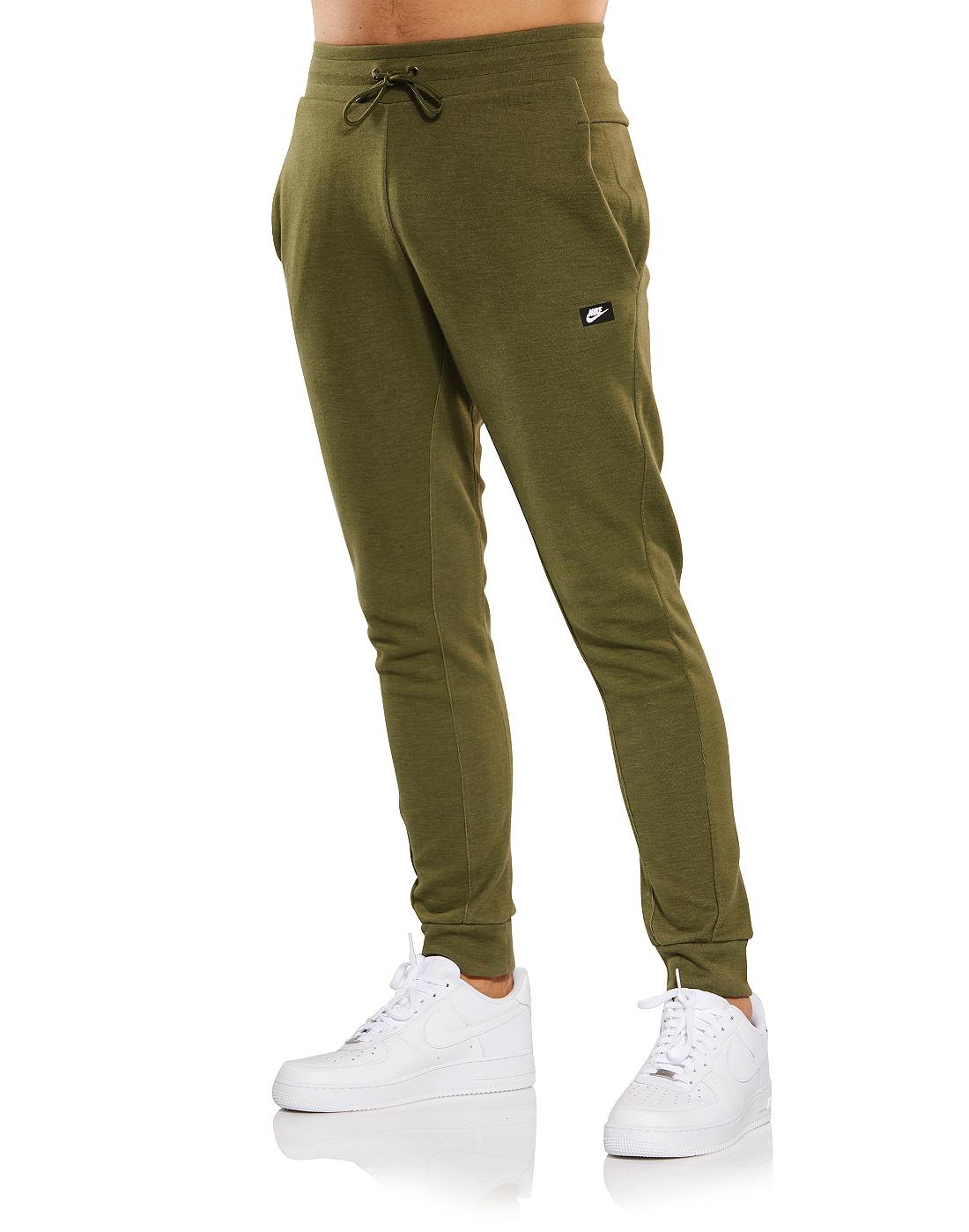 62ff83207d Men's Green Nike Optic Joggers   Life Style Sports