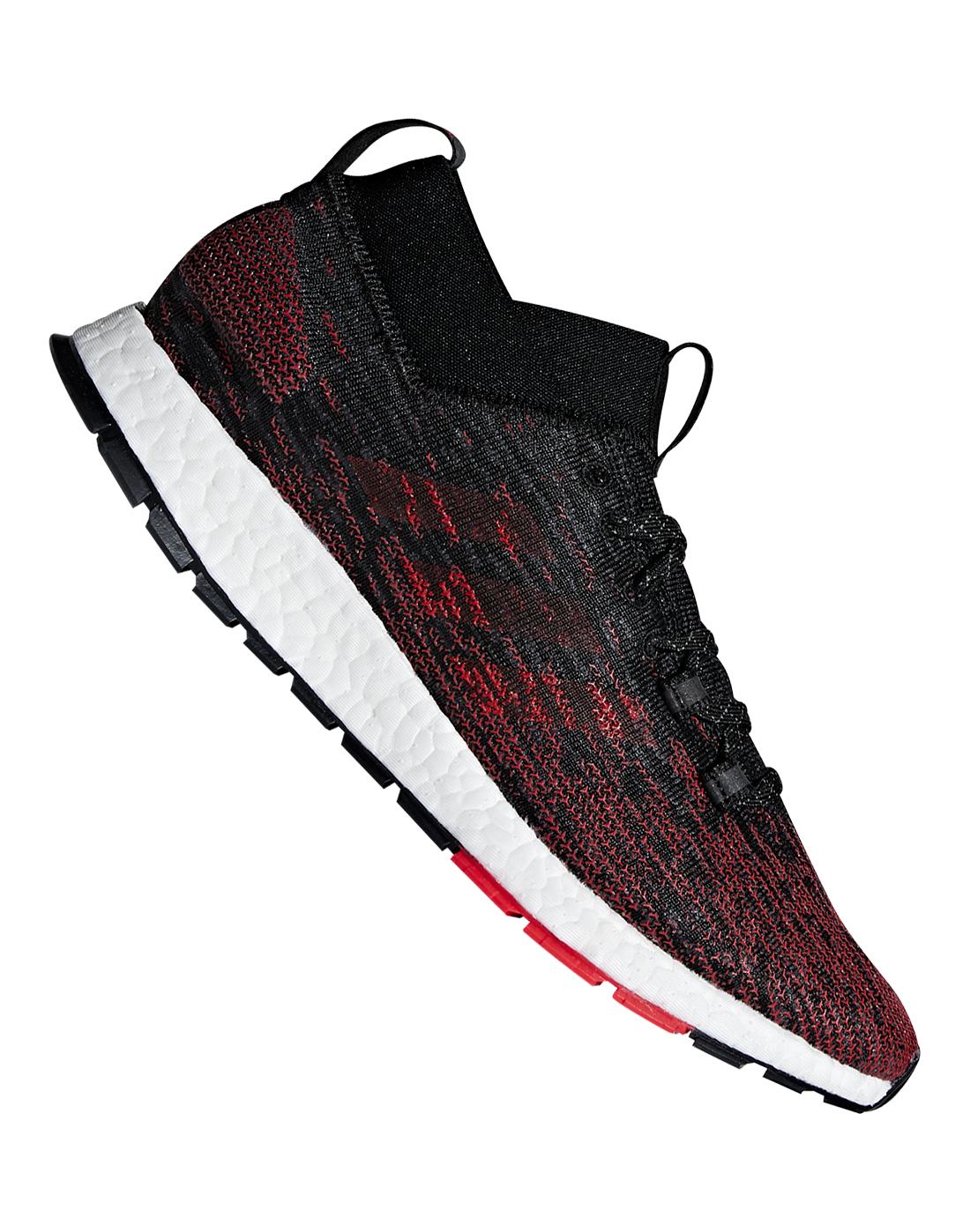 e5f41b70d210d Men s Black   Red adidas Pureboost Running Shoes