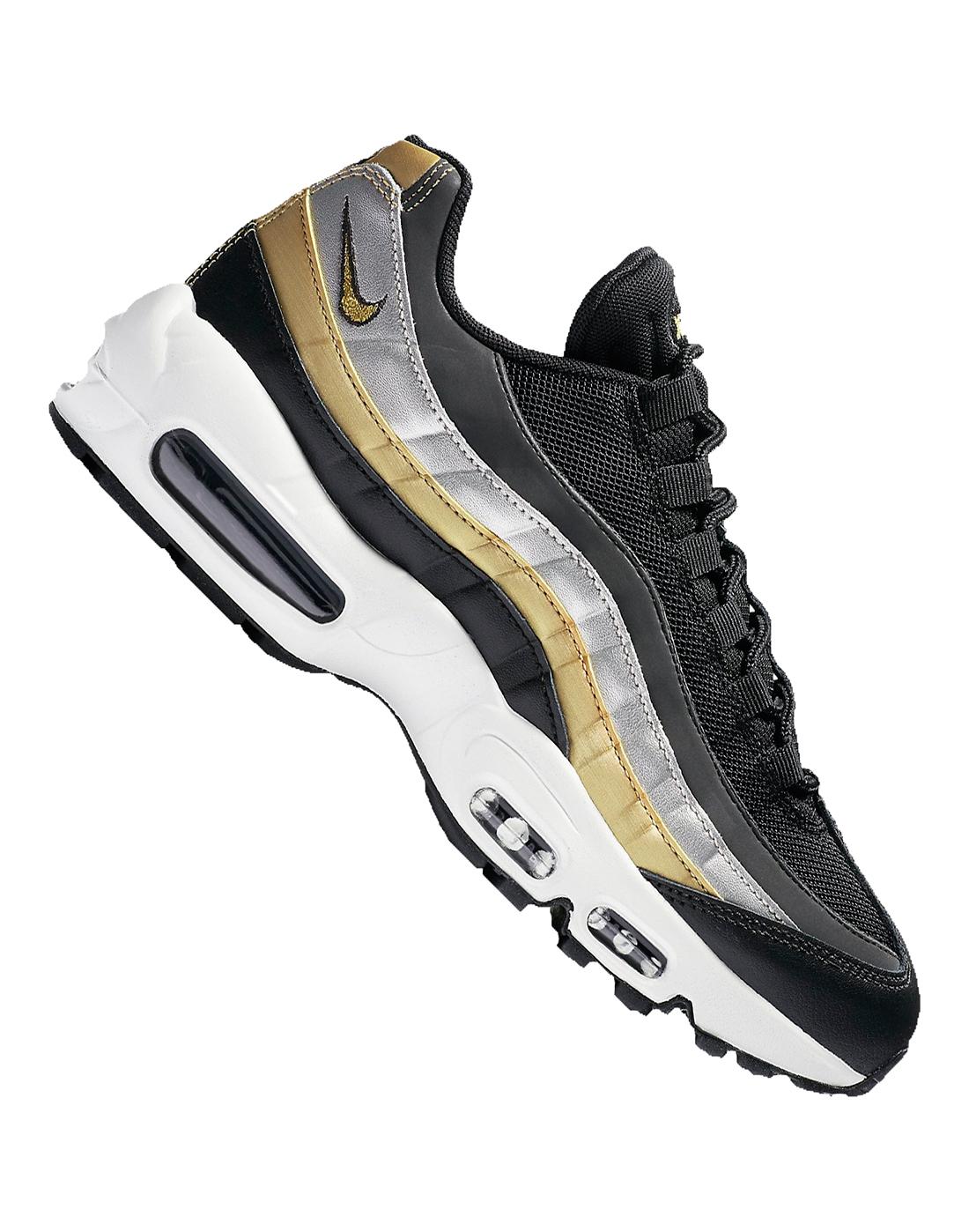 767c0d9e1 Women s Gold Nike Air Max 95
