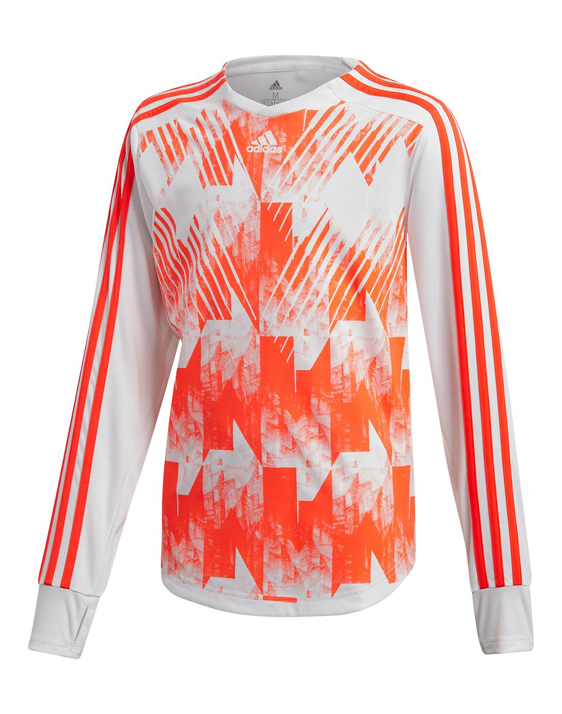 ee6abbe09fe5 Kid's Long Sleeve adidas Predator Jersey | Orange | Life Style Sports
