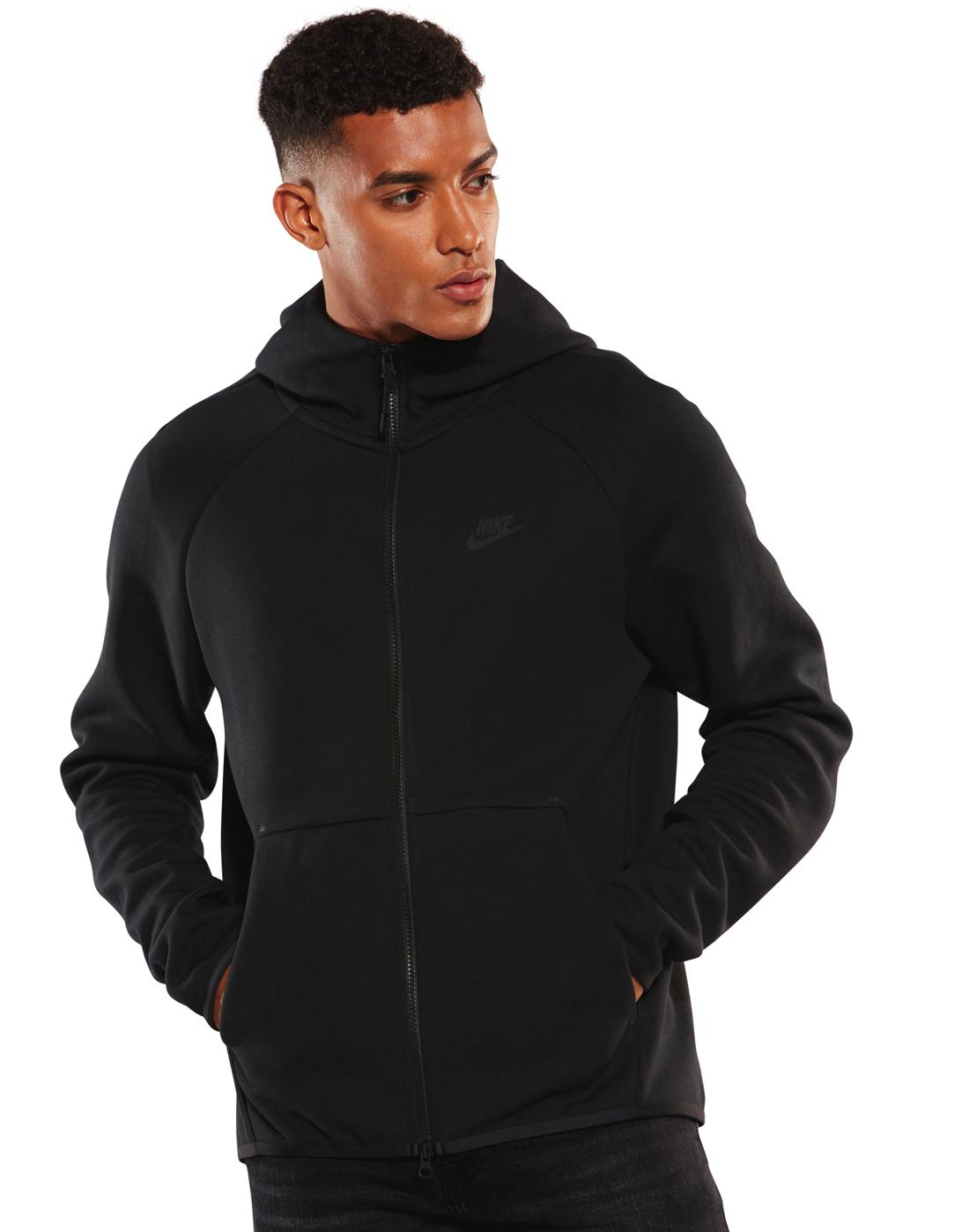 0841f0328694 Nike Mens Tech Fleece Full Zip Hoody