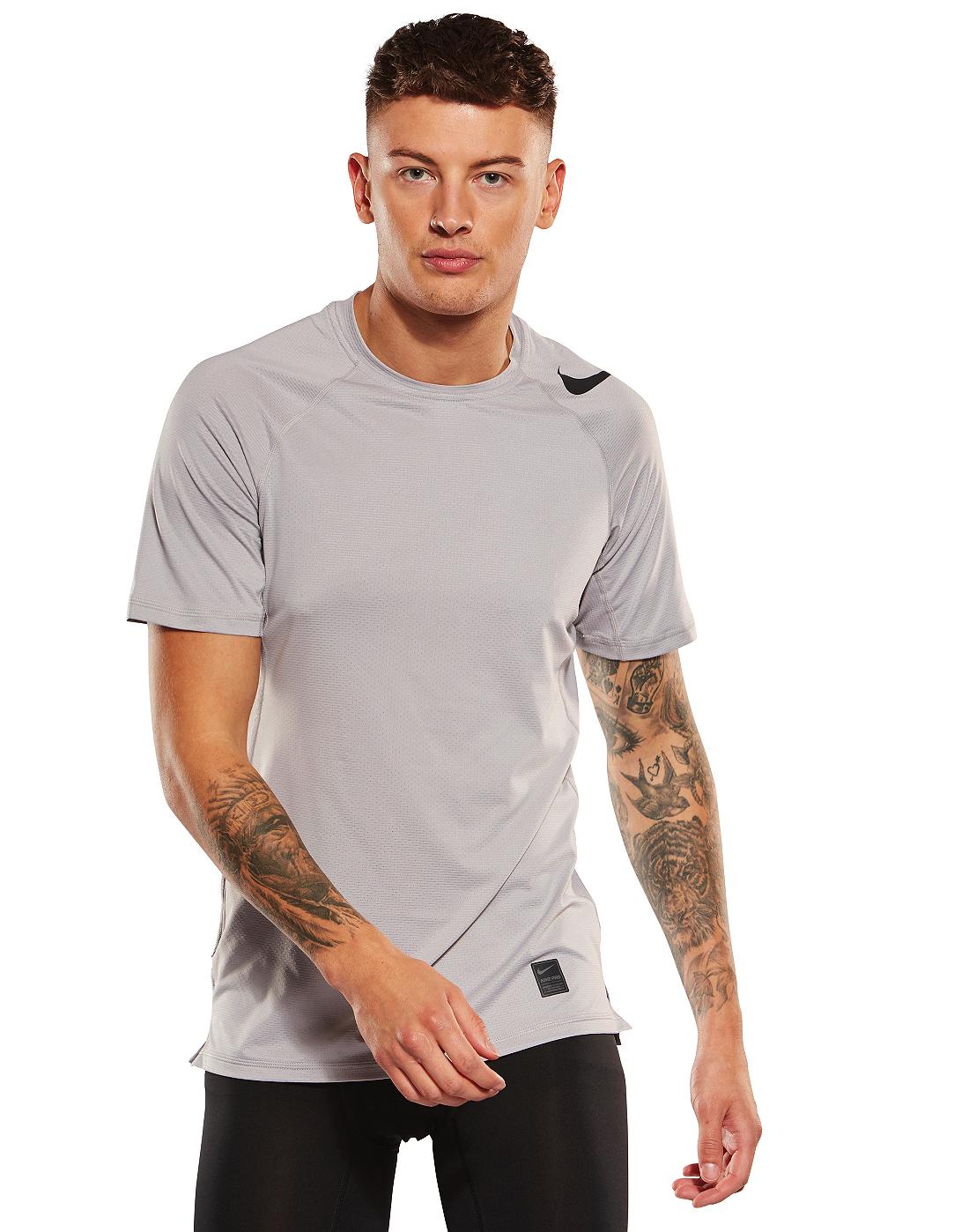 20316b972 Men's Nike Pro Hypercool T-Shirt | Grey | Life Style Sports