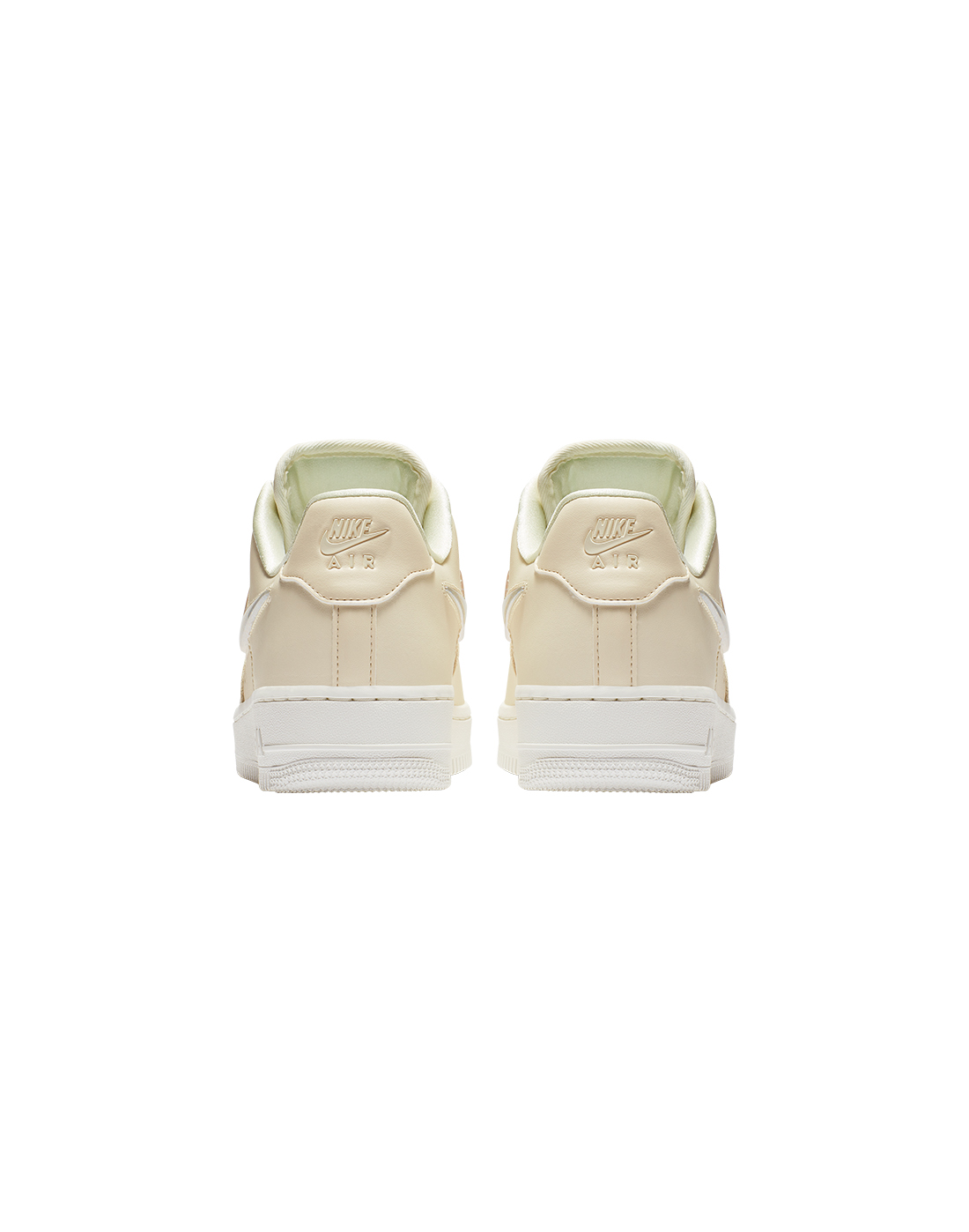 Women's Cream Nike Air Force 1 Jelly Puff | Life Style Sports