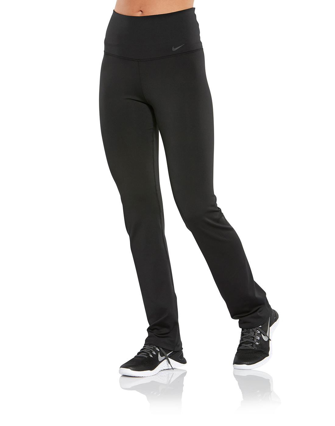 000c200ec1154 Women's Black Nike Gym Pants | Life Style Sports